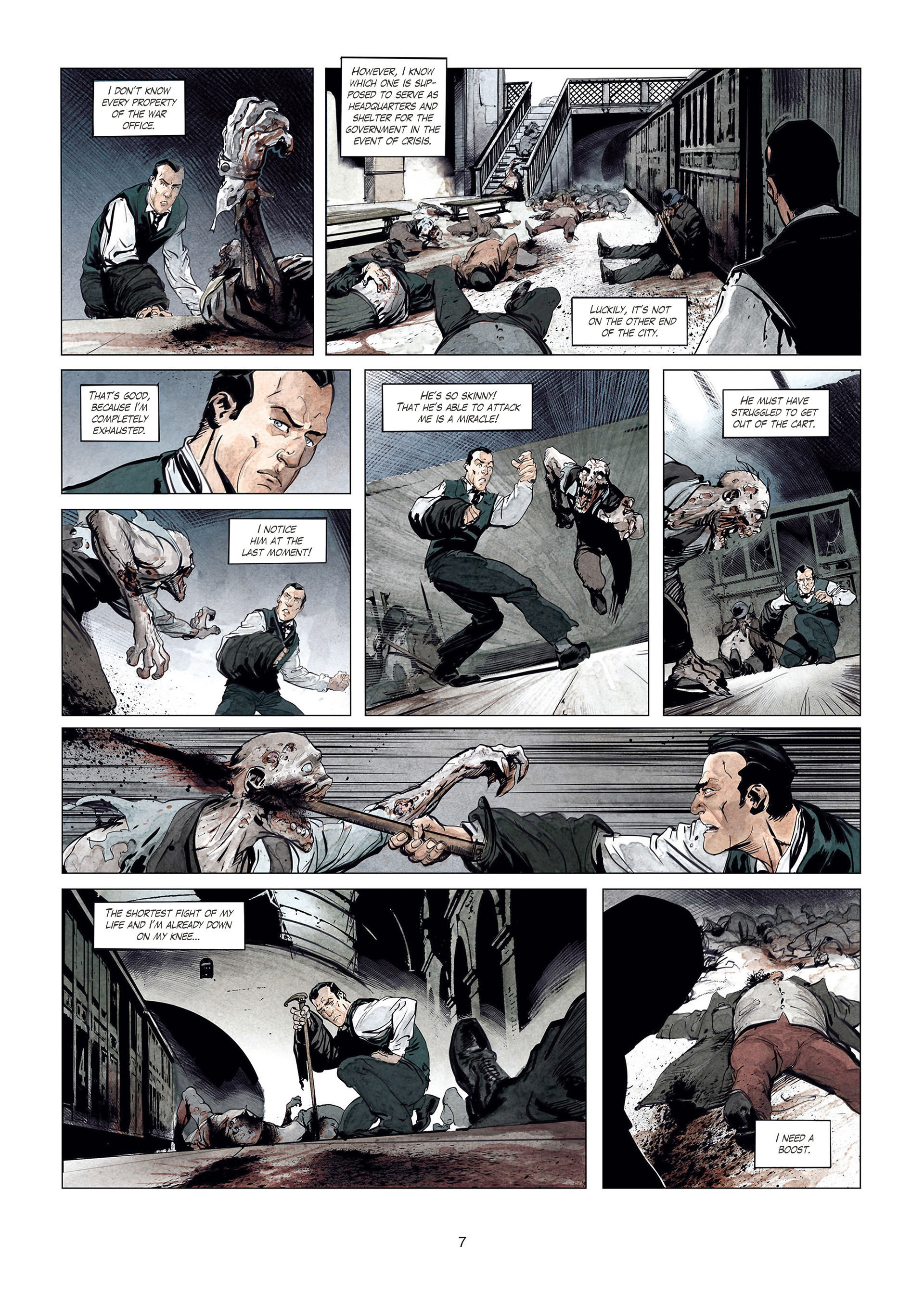 Read online Sherlock Holmes Society Tome 4 : Contamination comic -  Issue # Full - 7