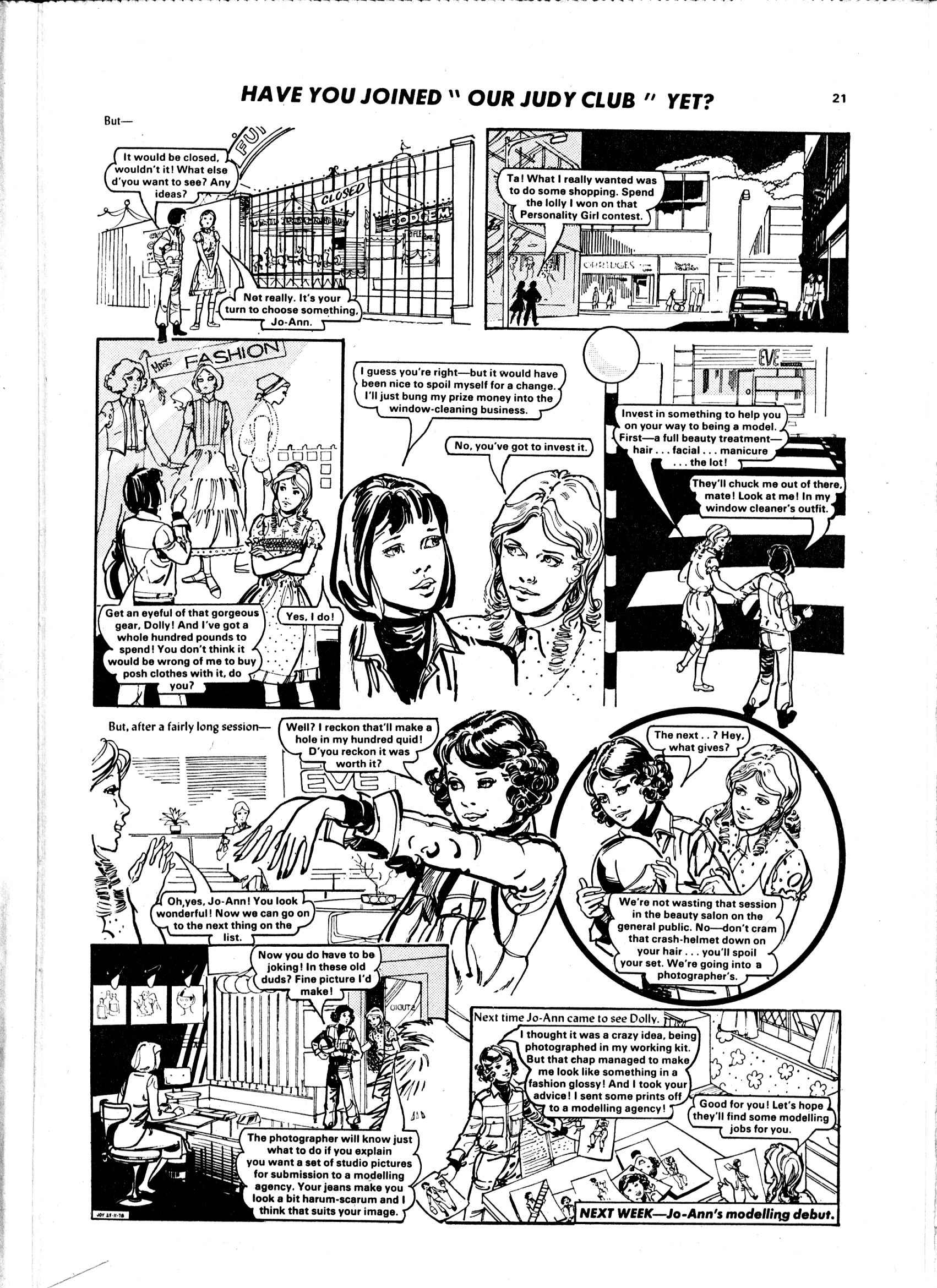 Read online Judy comic -  Issue #985 - 21