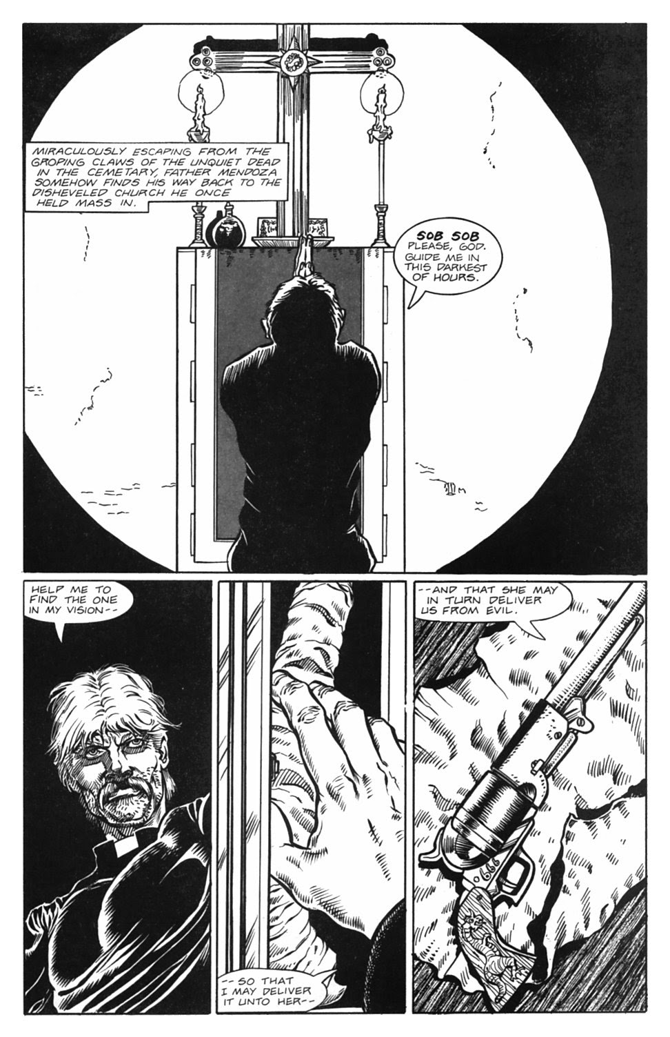 Read online Gunfighters in Hell comic -  Issue #5 - 14