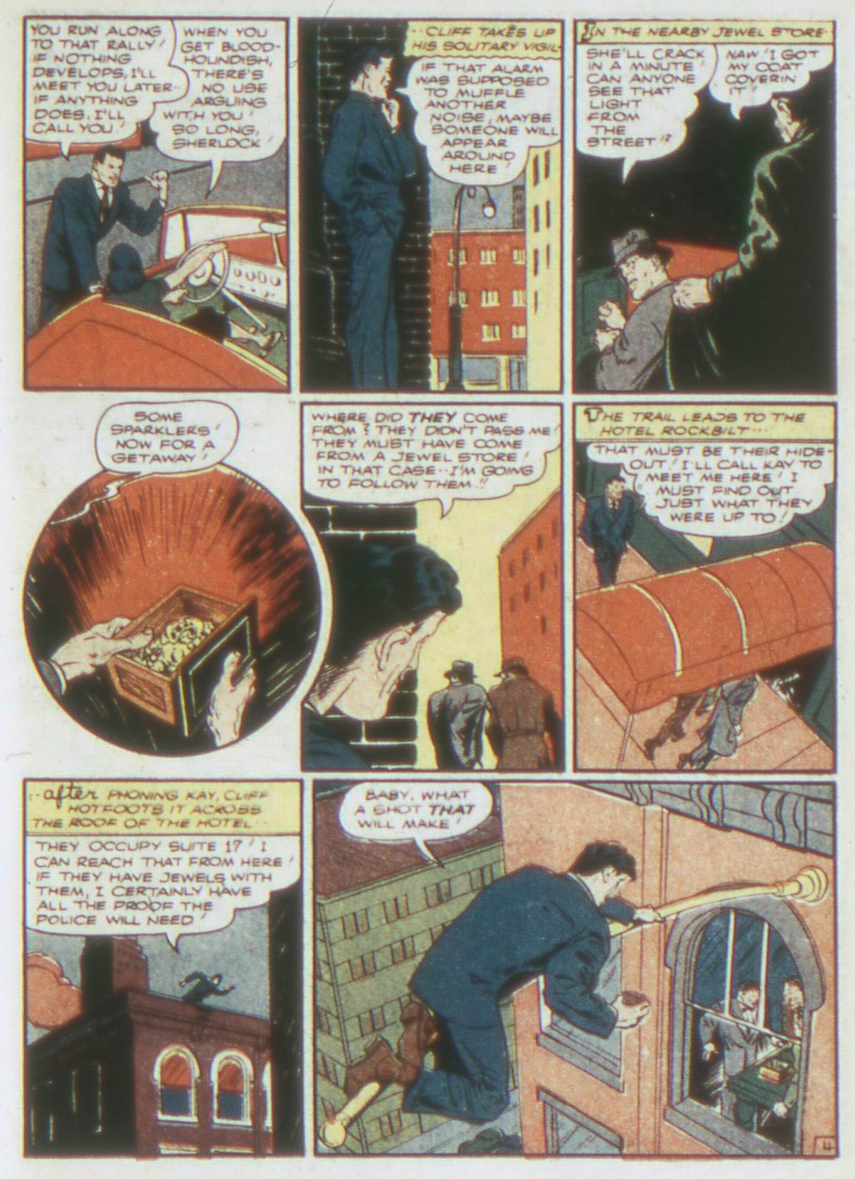 Read online Detective Comics (1937) comic -  Issue #62 - 27