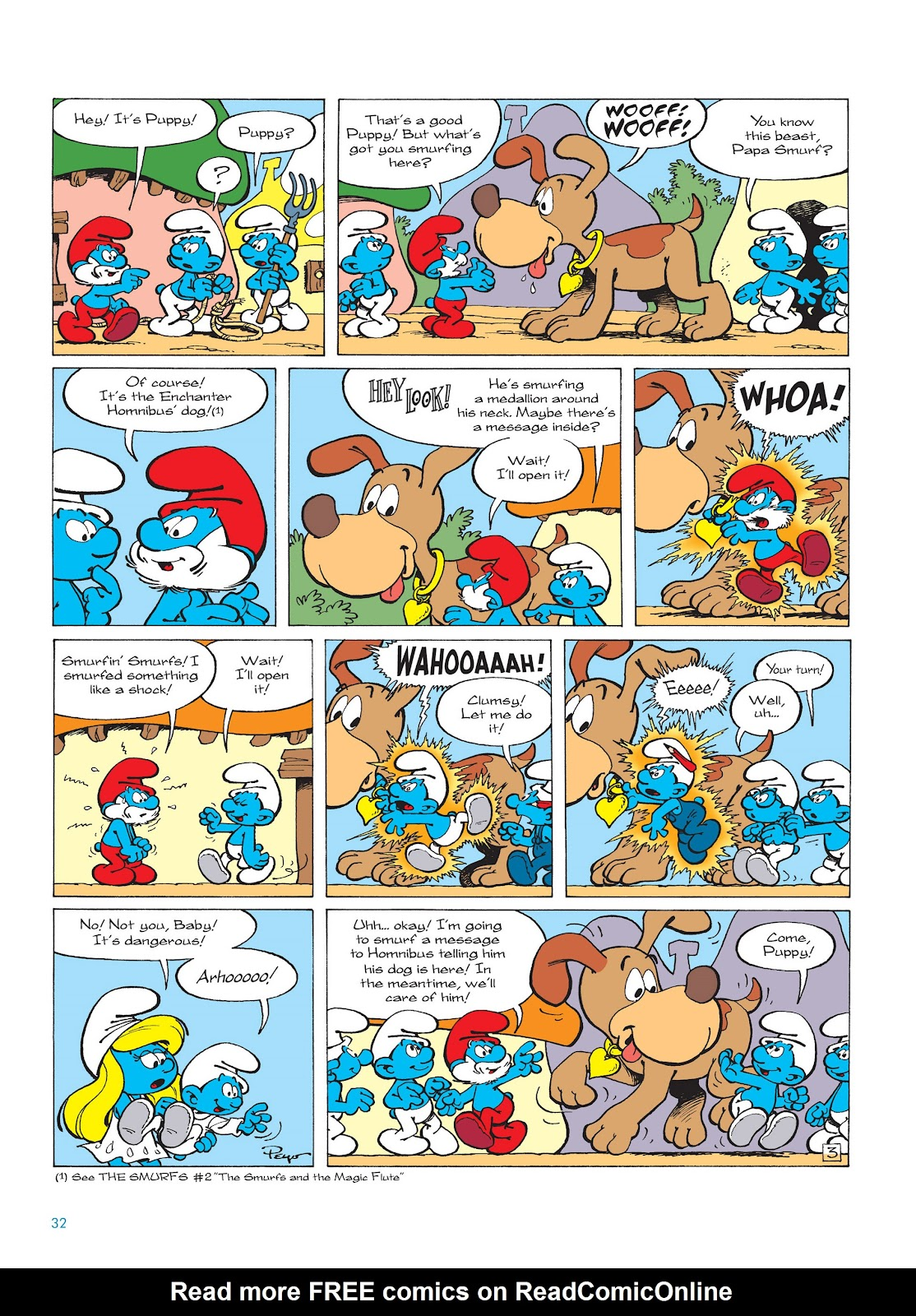 Read online The Smurfs comic -  Issue #15 - 33