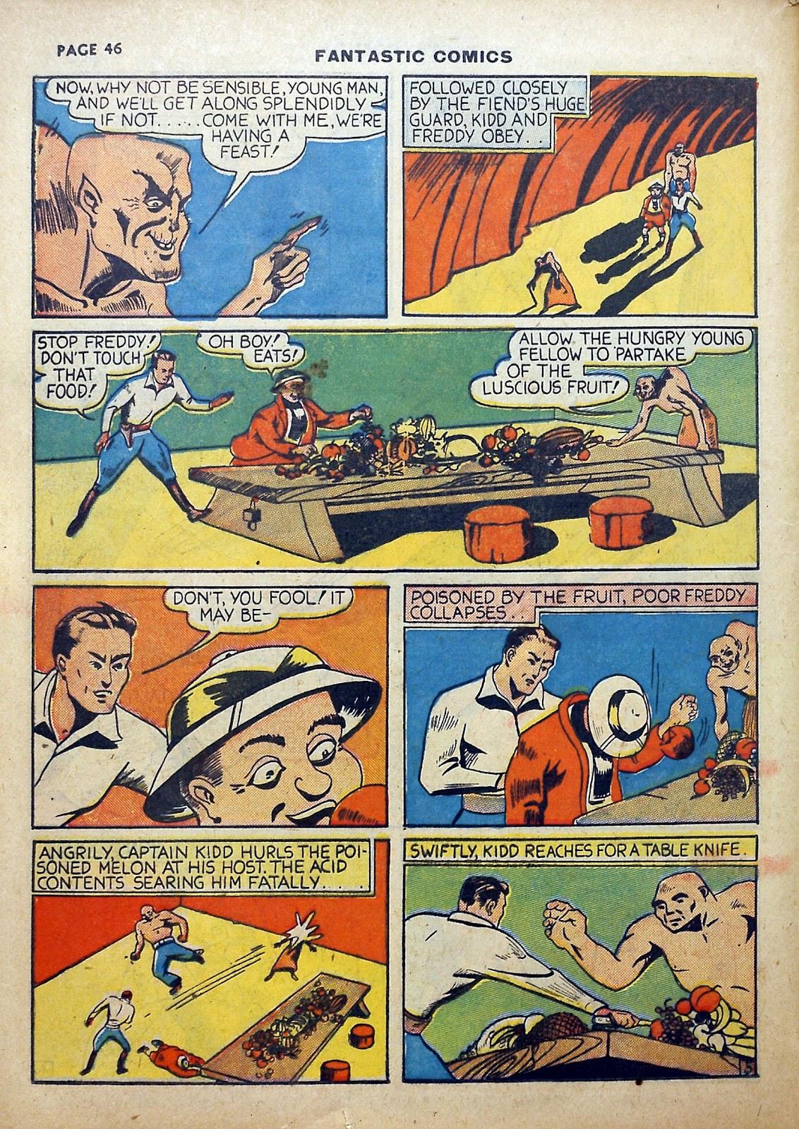 Read online Fantastic Comics comic -  Issue #5 - 47