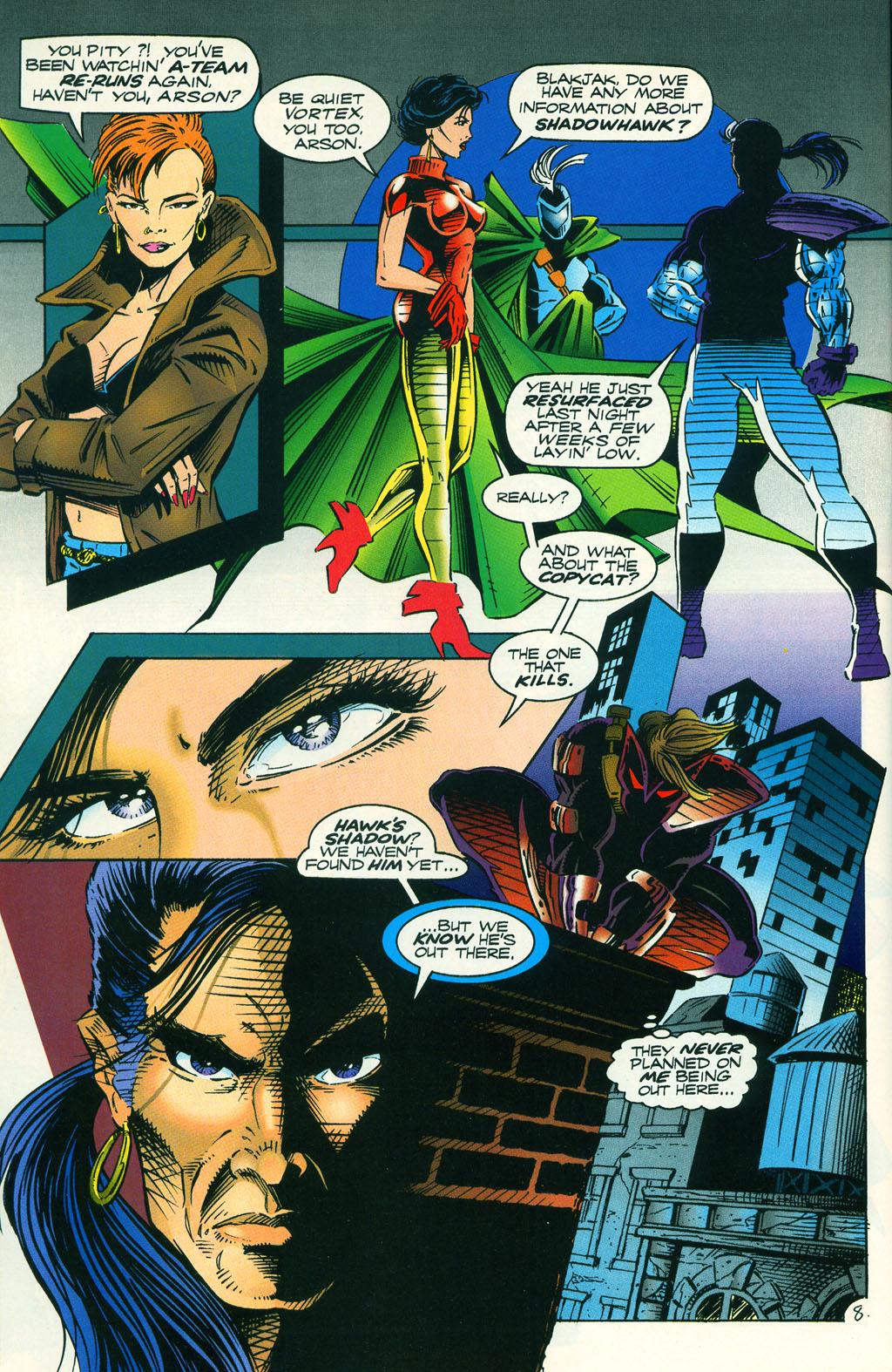 Read online ShadowHawk comic -  Issue #5 - 12