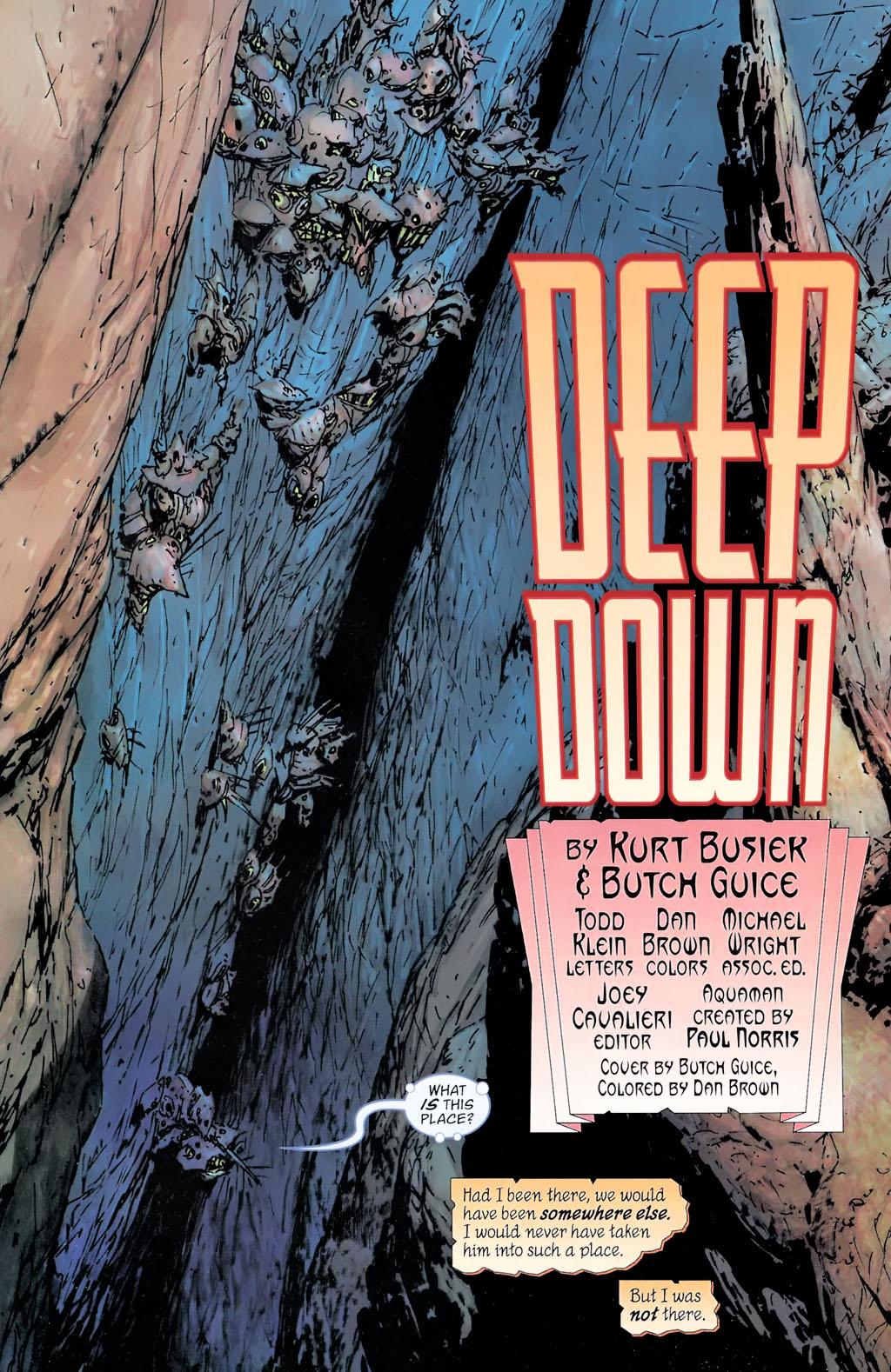 Read online Aquaman: Sword of Atlantis comic -  Issue #42 - 2