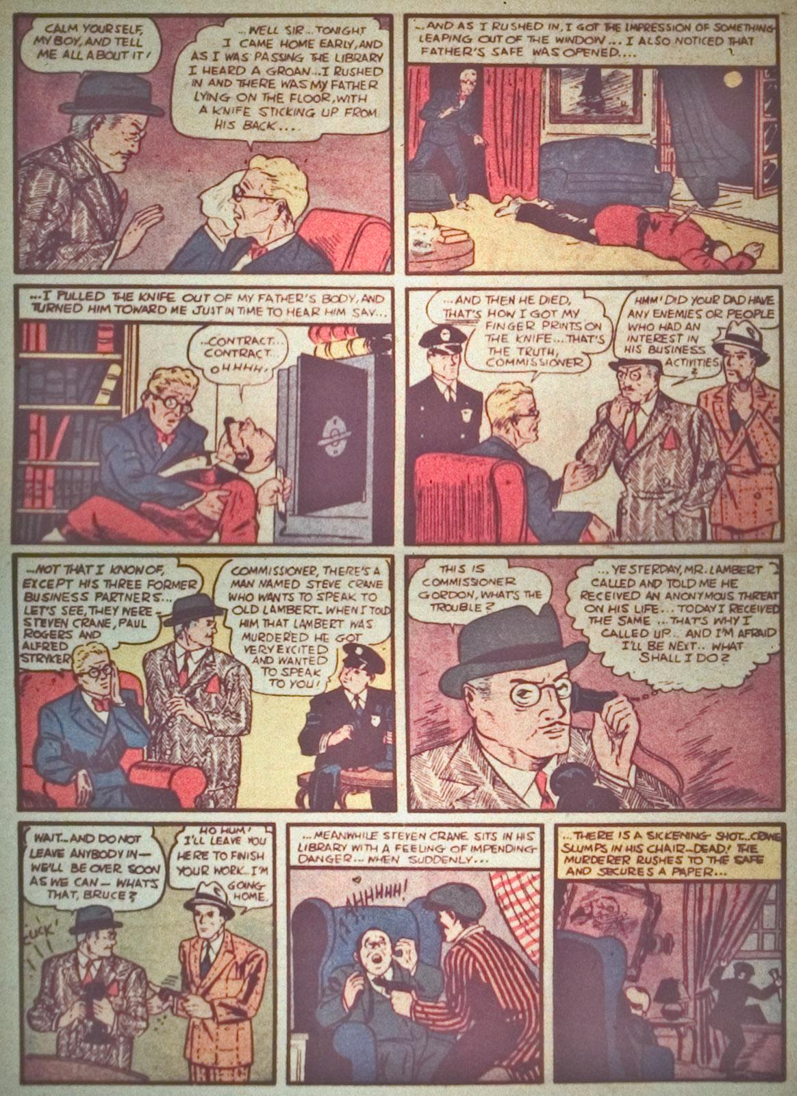 Read online Detective Comics (1937) comic -  Issue #27 - 5