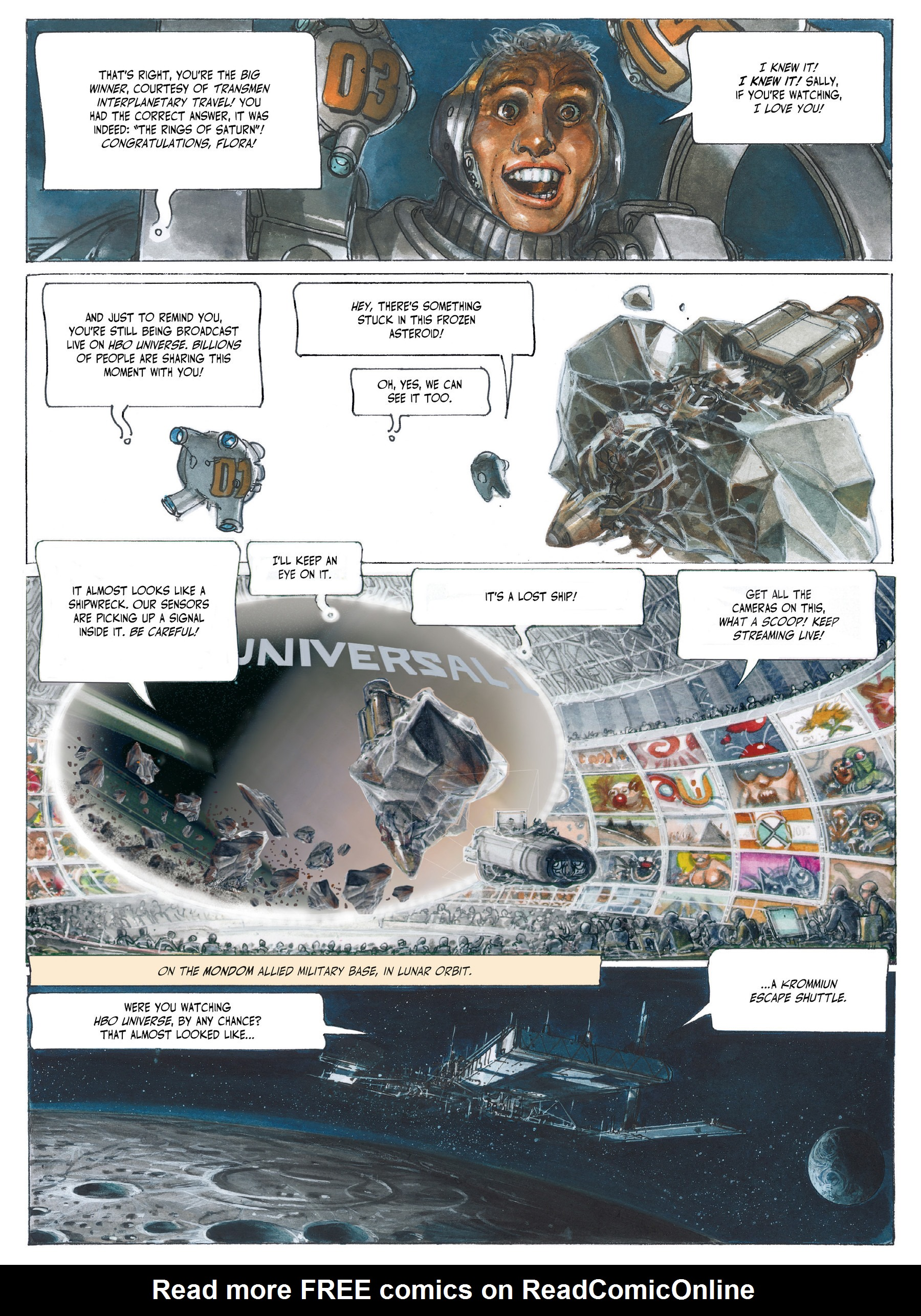 Read online The Fourth Power comic -  Issue #3 - 7