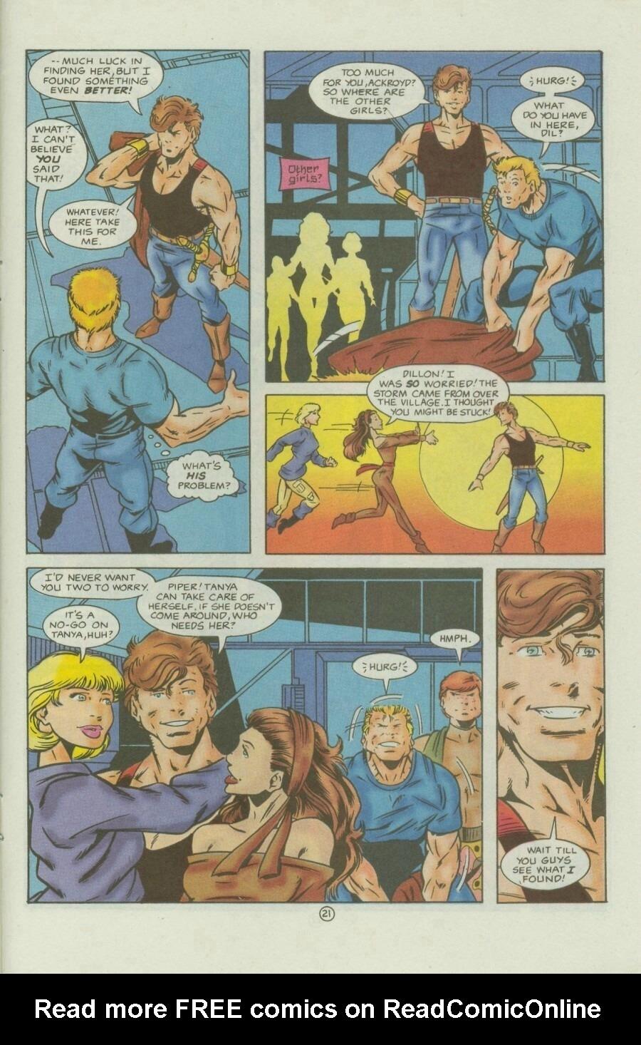 Read online Ex-Mutants comic -  Issue #9 - 27
