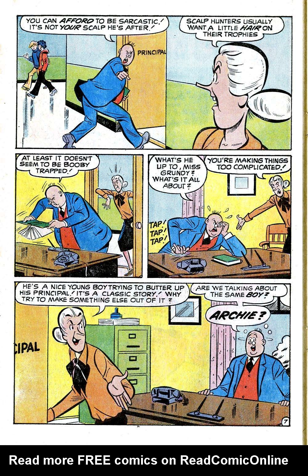 Read online Archie (1960) comic -  Issue #218 - 10