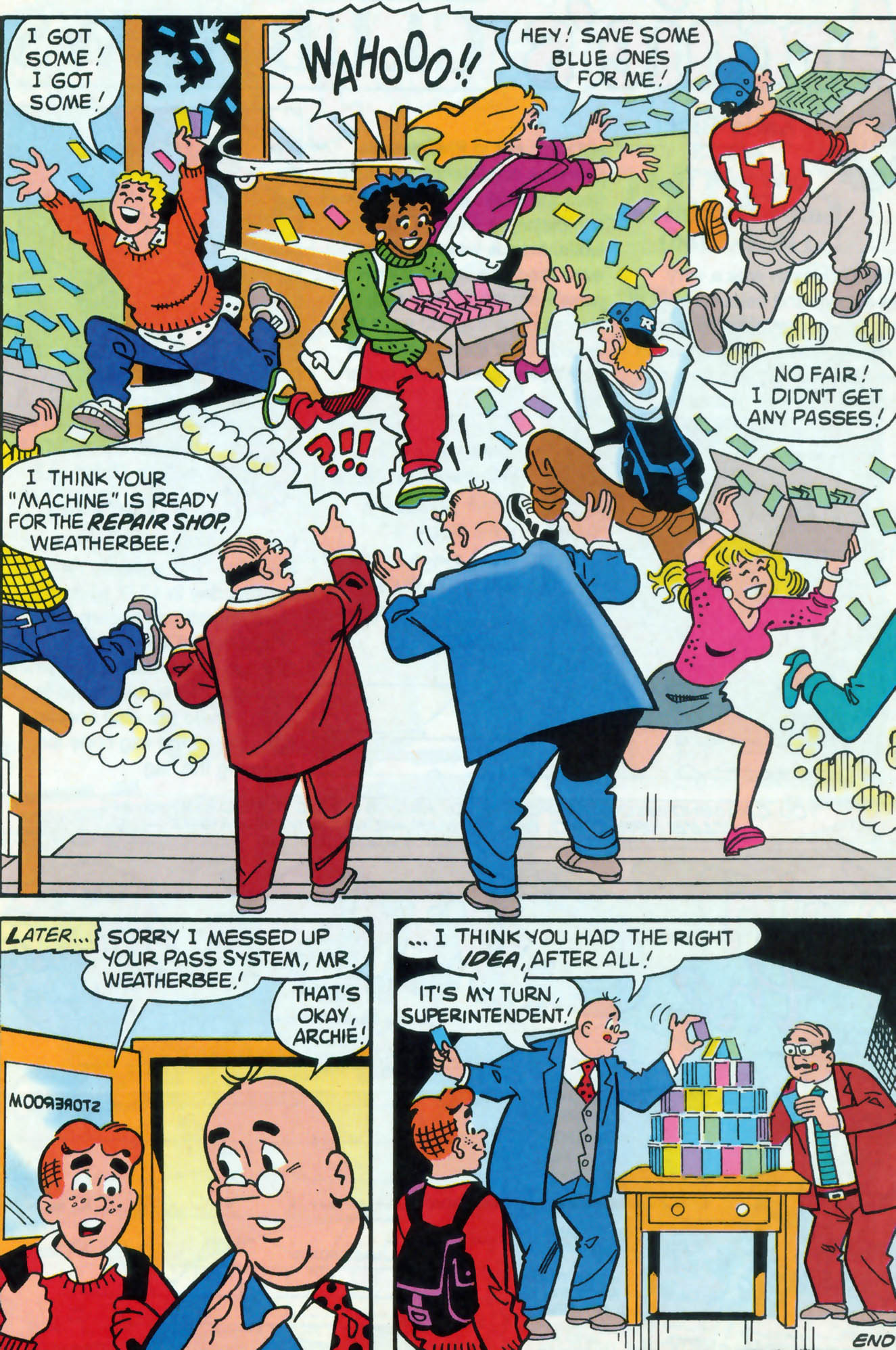 Read online Archie (1960) comic -  Issue #471 - 19