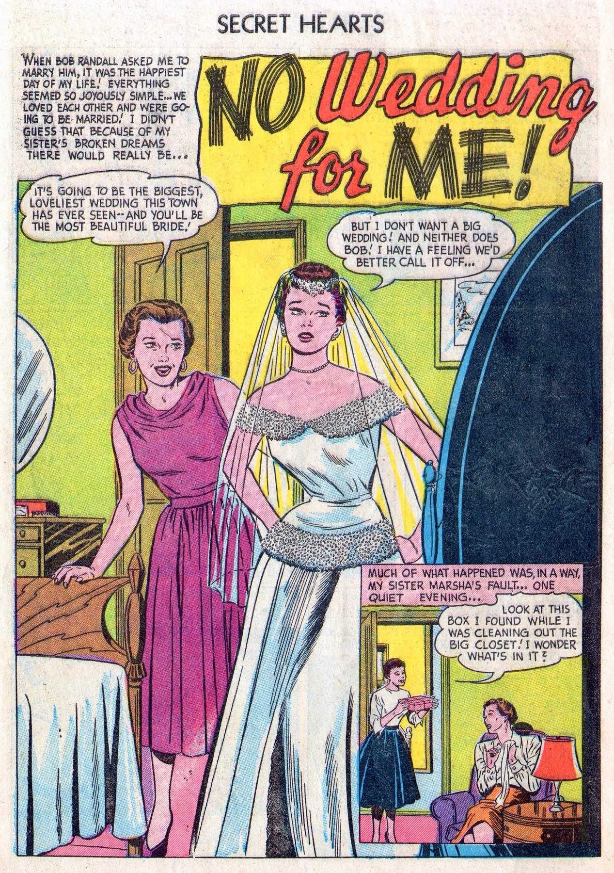 Read online Secret Hearts comic -  Issue #28 - 10