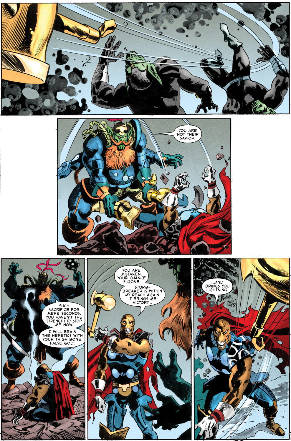 Read online Secret Invasion Aftermath: Beta Ray Bill - The Green of Eden comic -  Issue # Full - 27