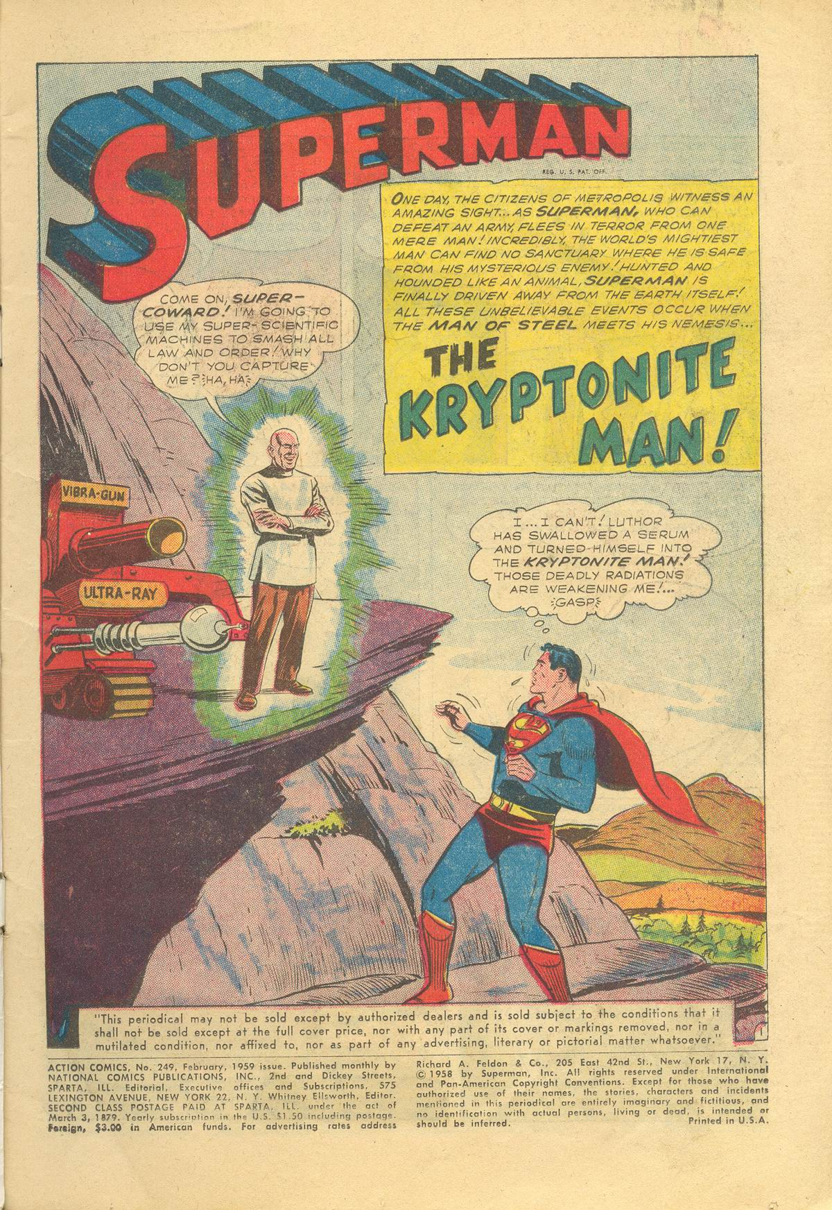 Read online Action Comics (1938) comic -  Issue #249 - 3