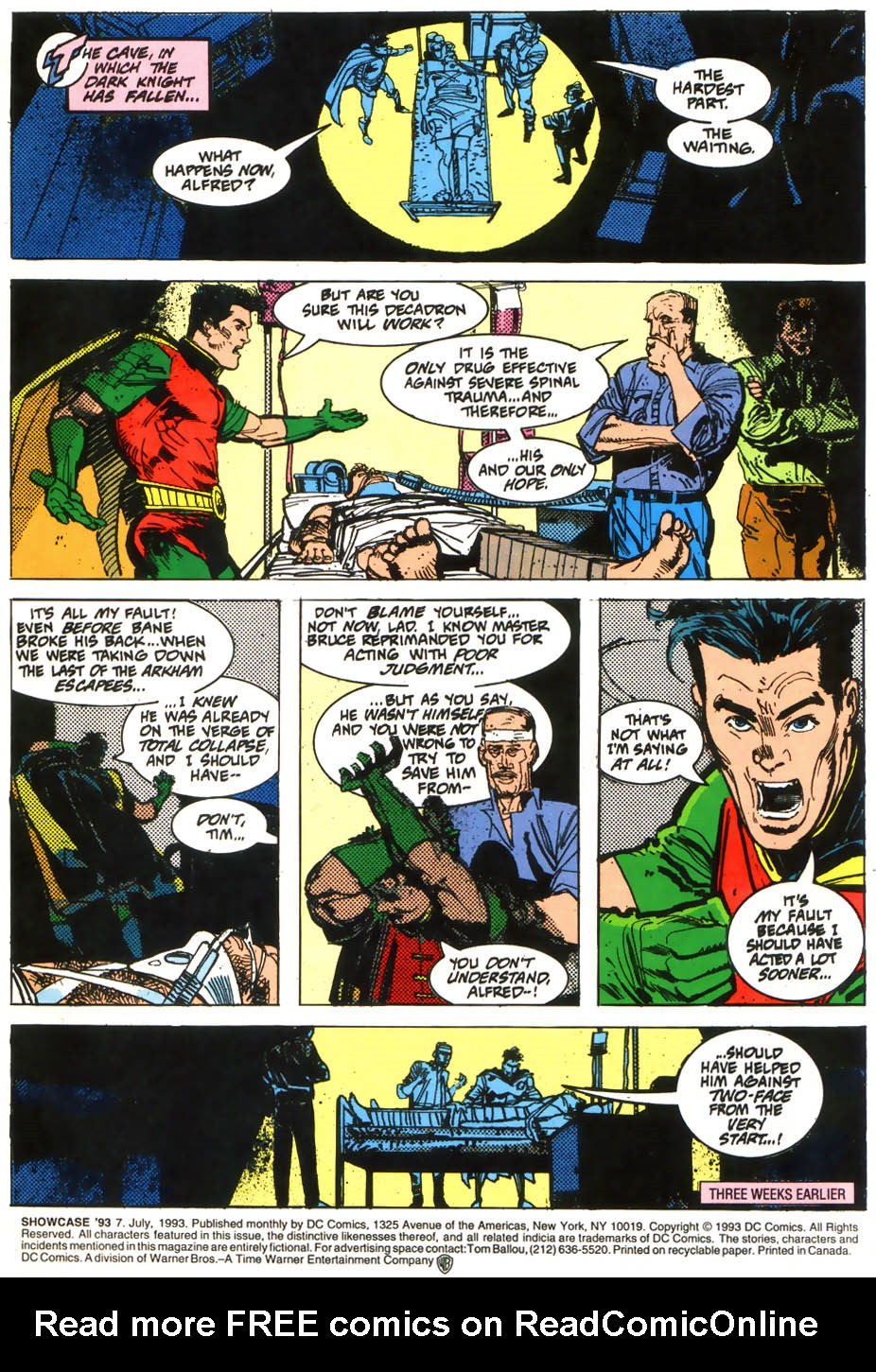 Read online Showcase '93 comic -  Issue #7 - 2