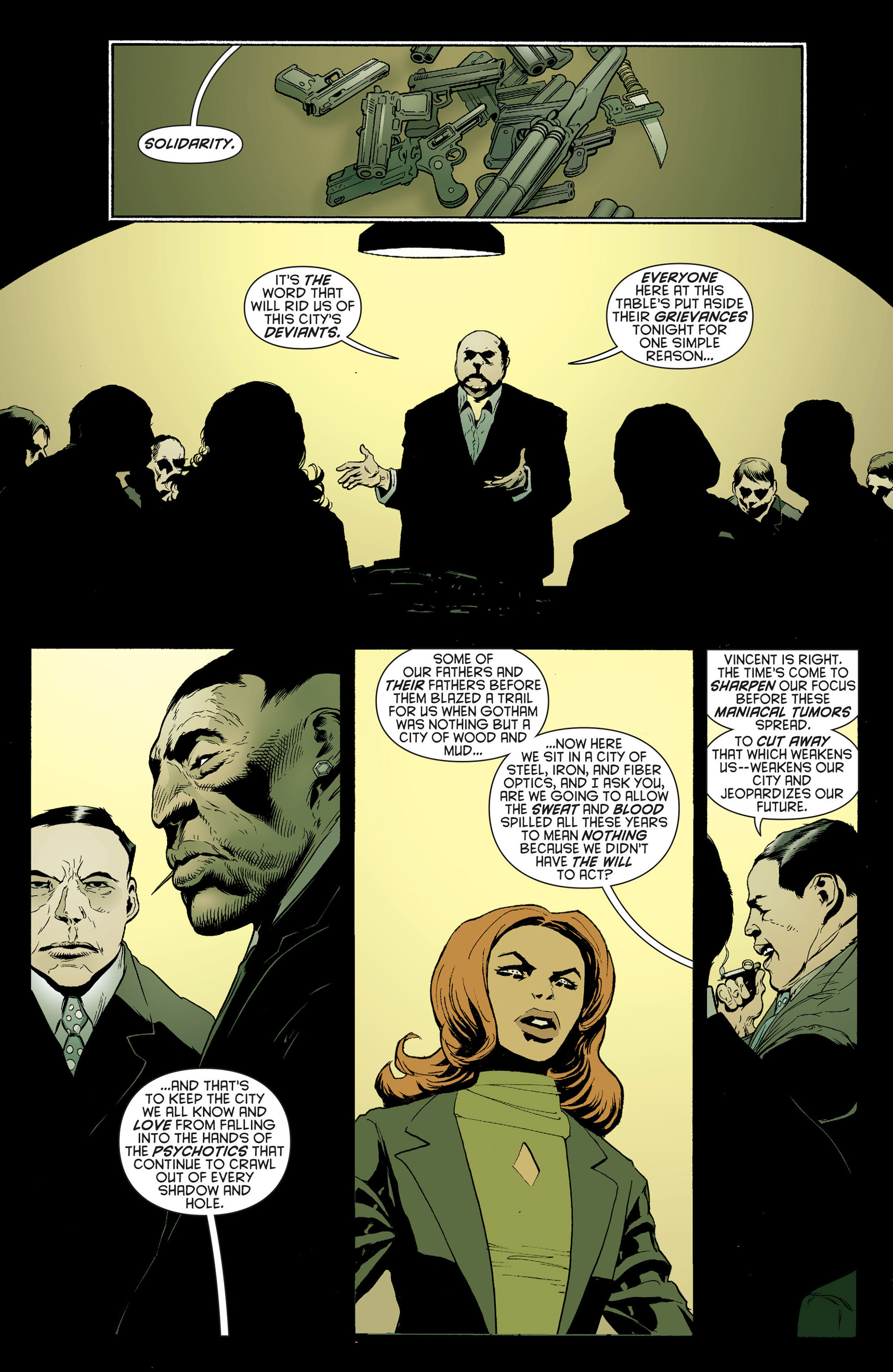 Read online Batman and Robin (2011) comic -  Issue #24 - Batman and Two-Face - 9