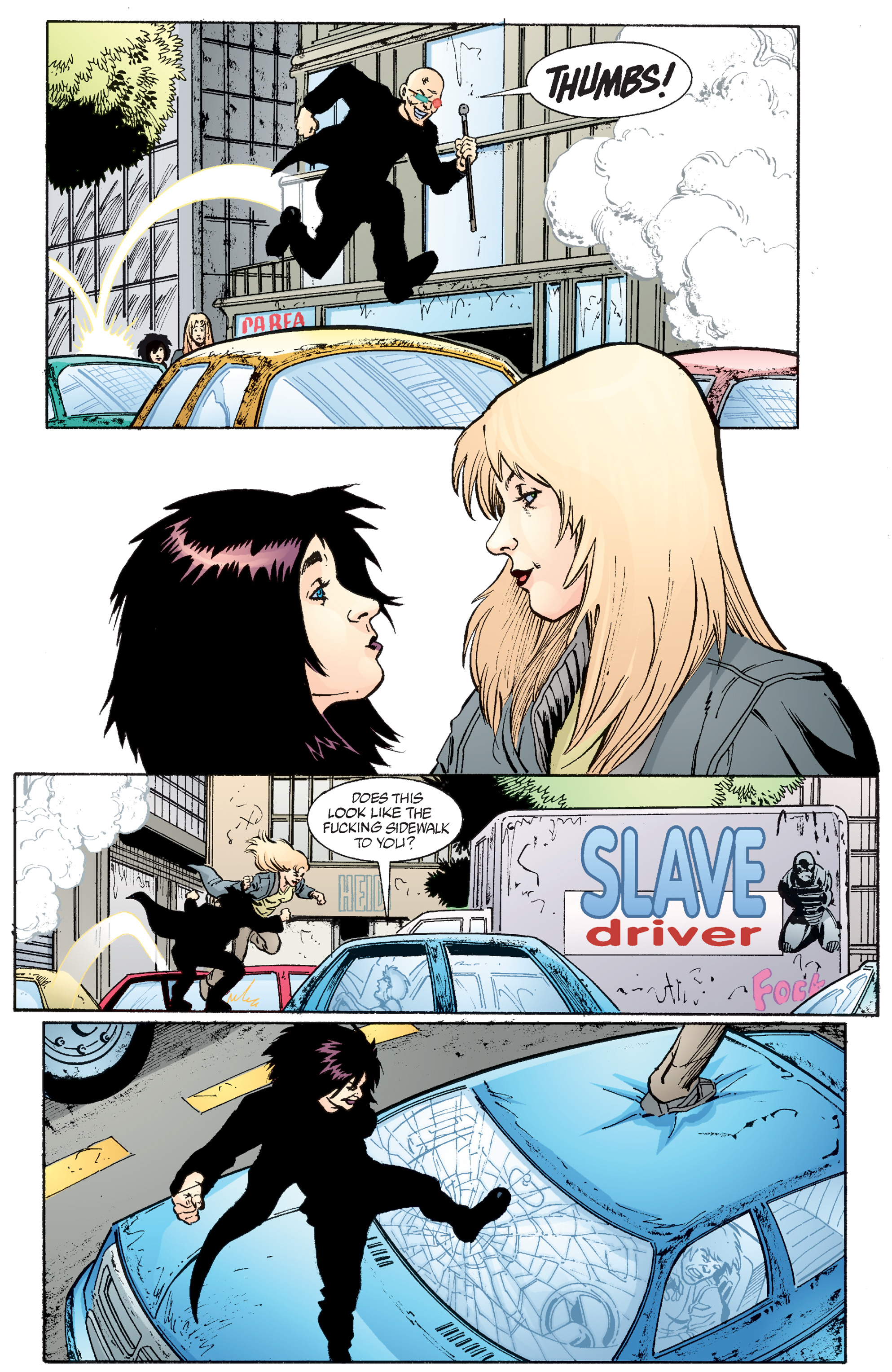 Read online Transmetropolitan comic -  Issue #49 - 17