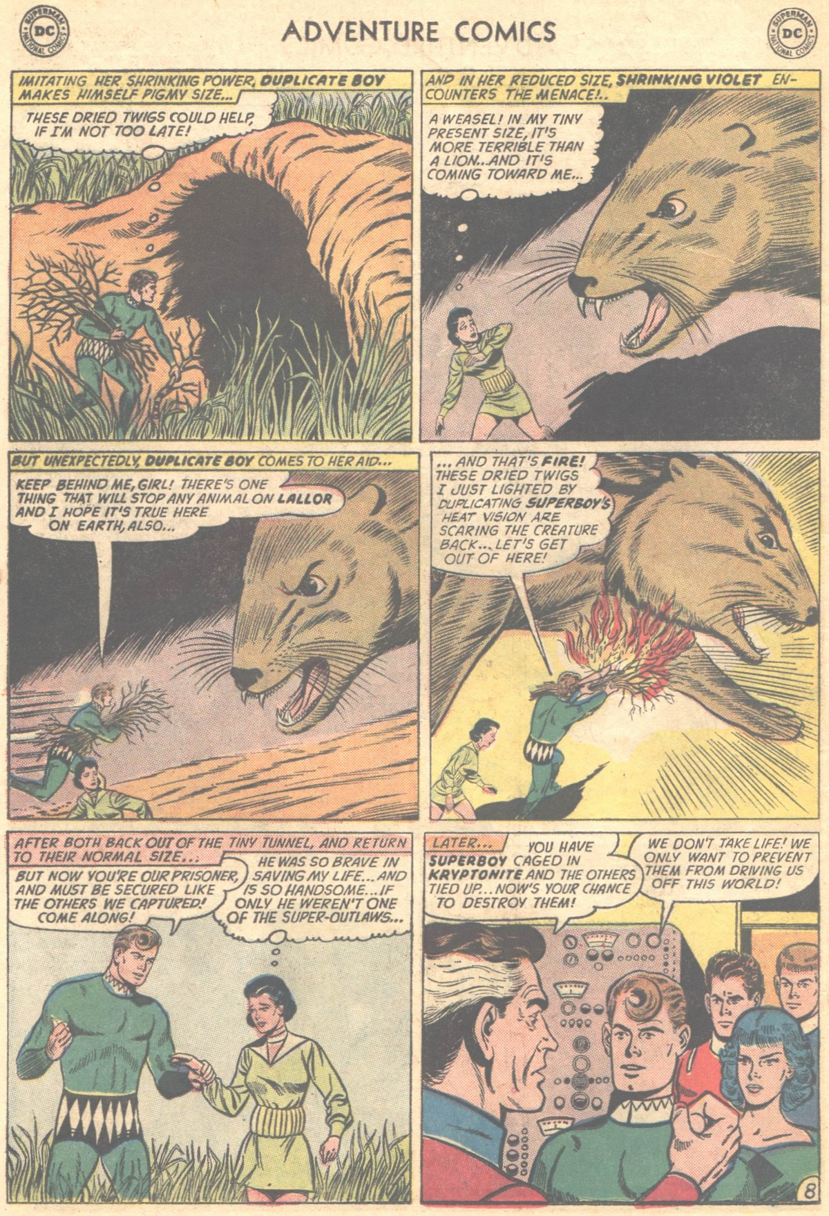 Read online Adventure Comics (1938) comic -  Issue #324 - 10