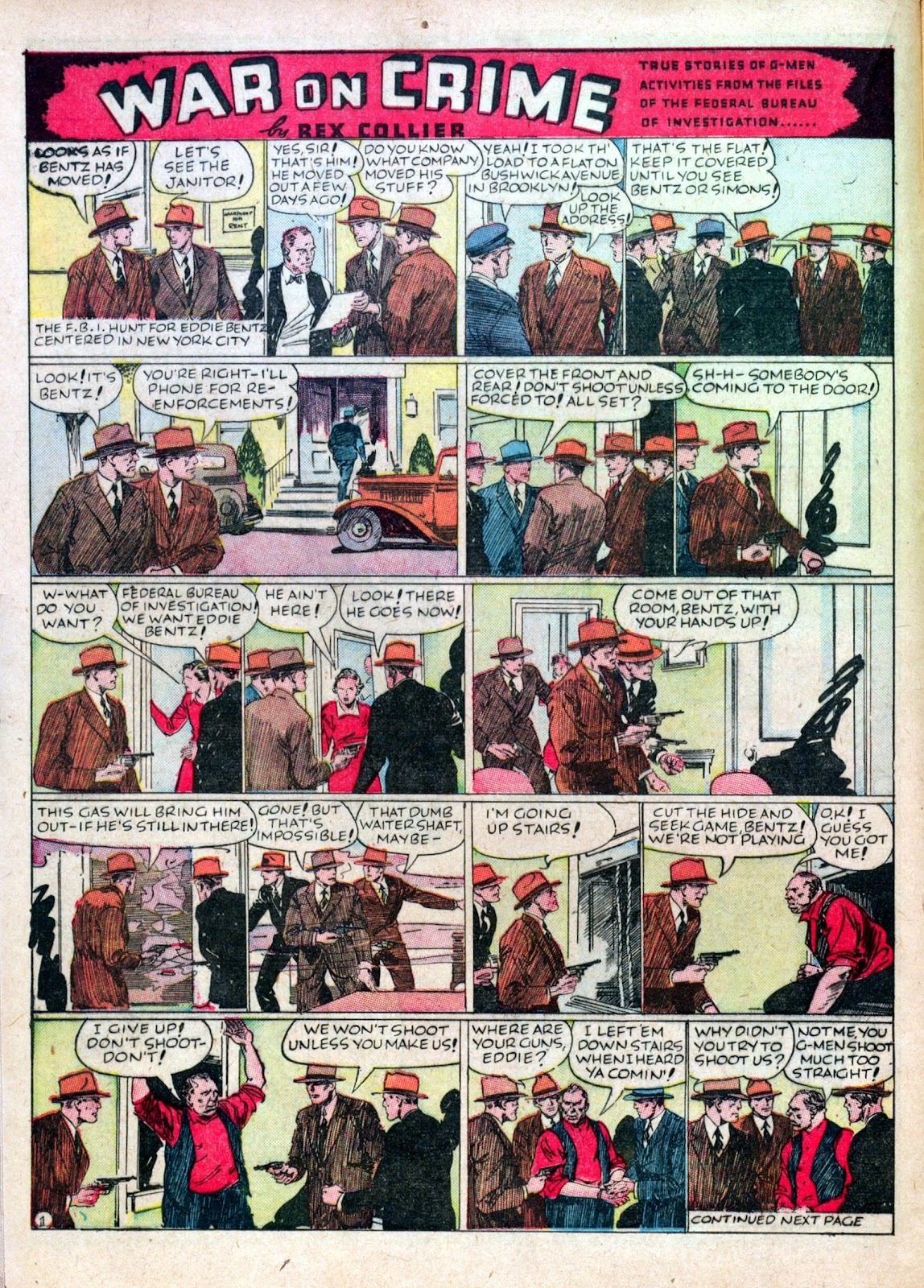 Read online Famous Funnies comic -  Issue #45 - 22