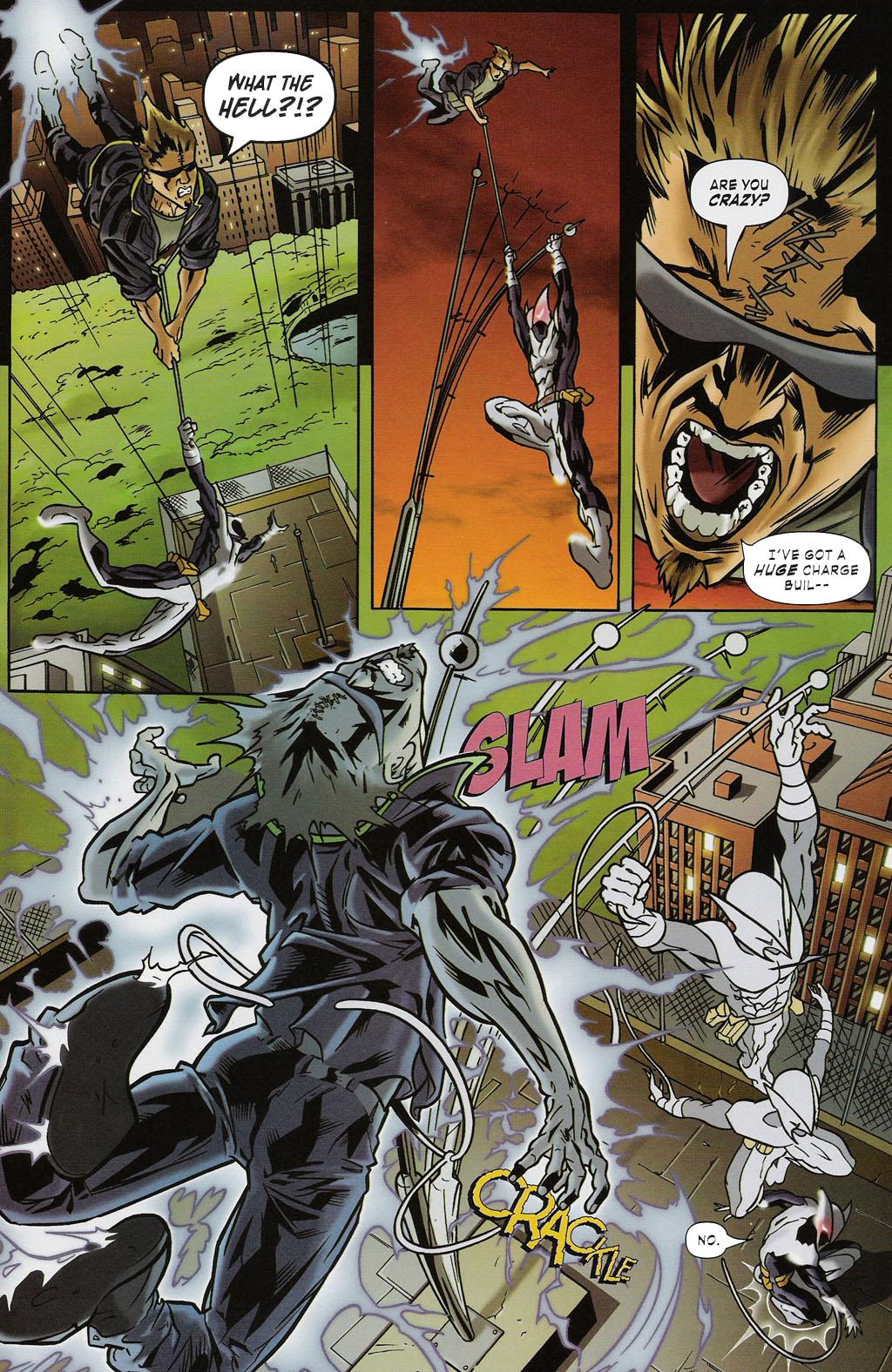 Read online ShadowHawk (2005) comic -  Issue #2 - 23