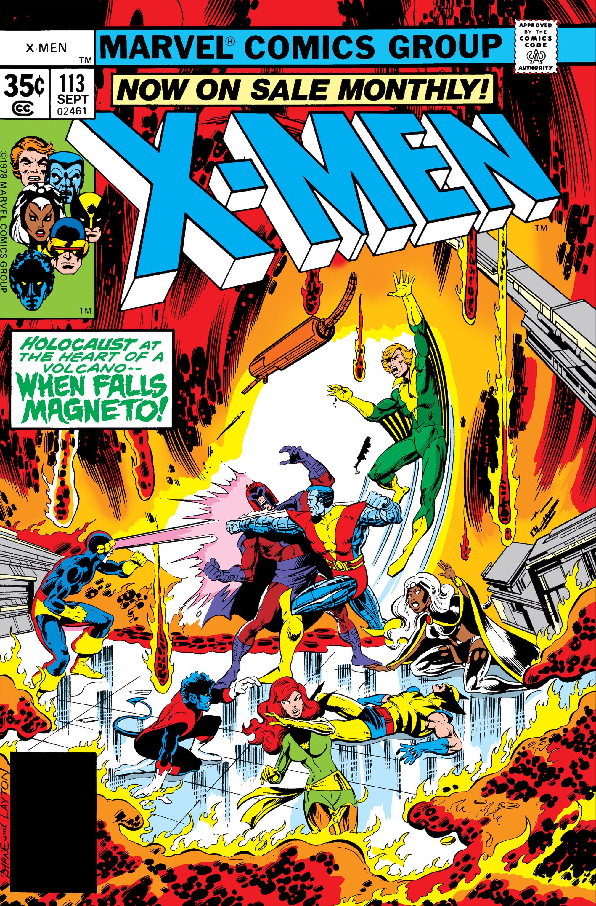 Uncanny X-Men (1963) 113 Page 1