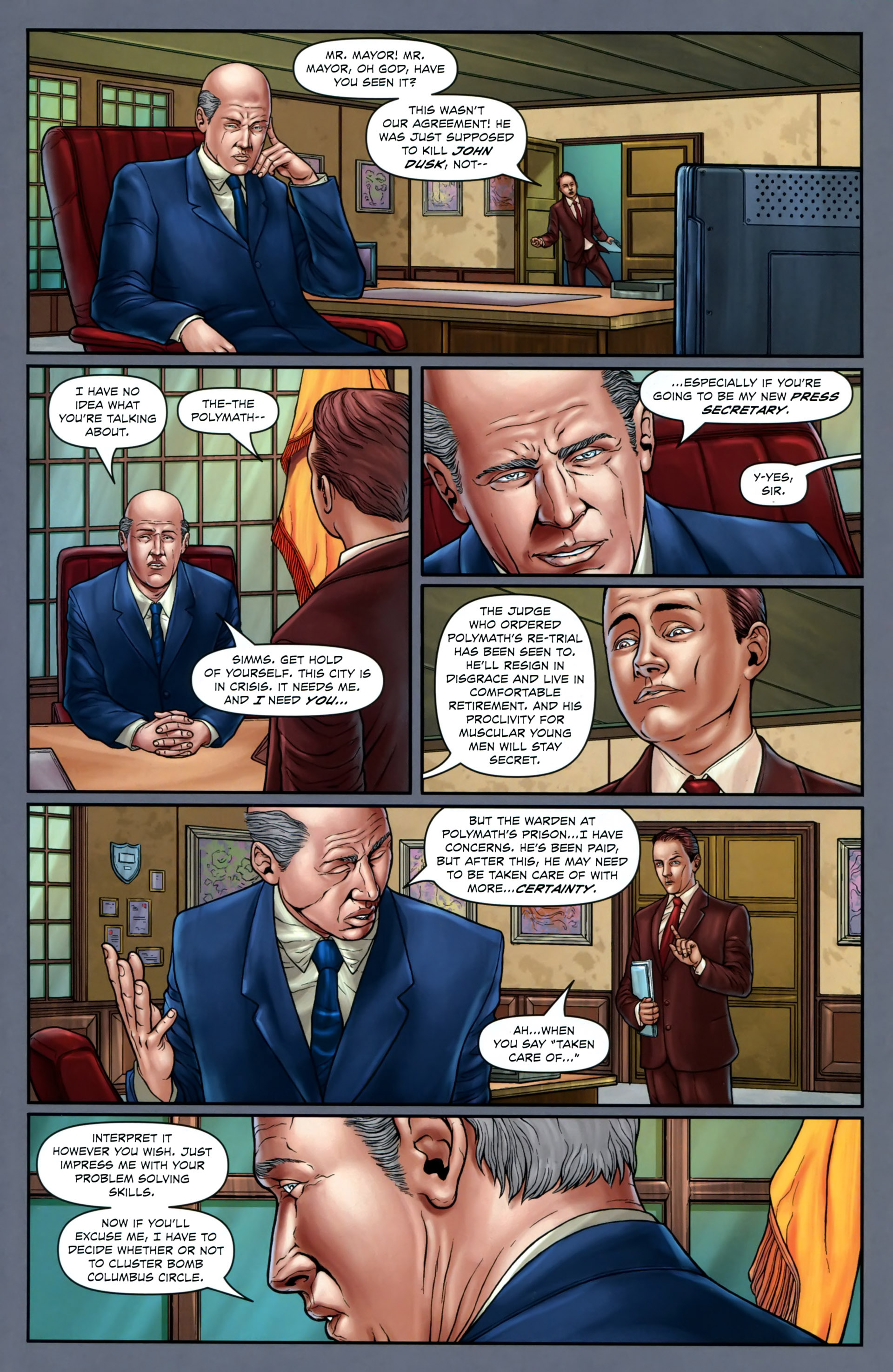 Read online Absolution: Rubicon comic -  Issue #2 - 9