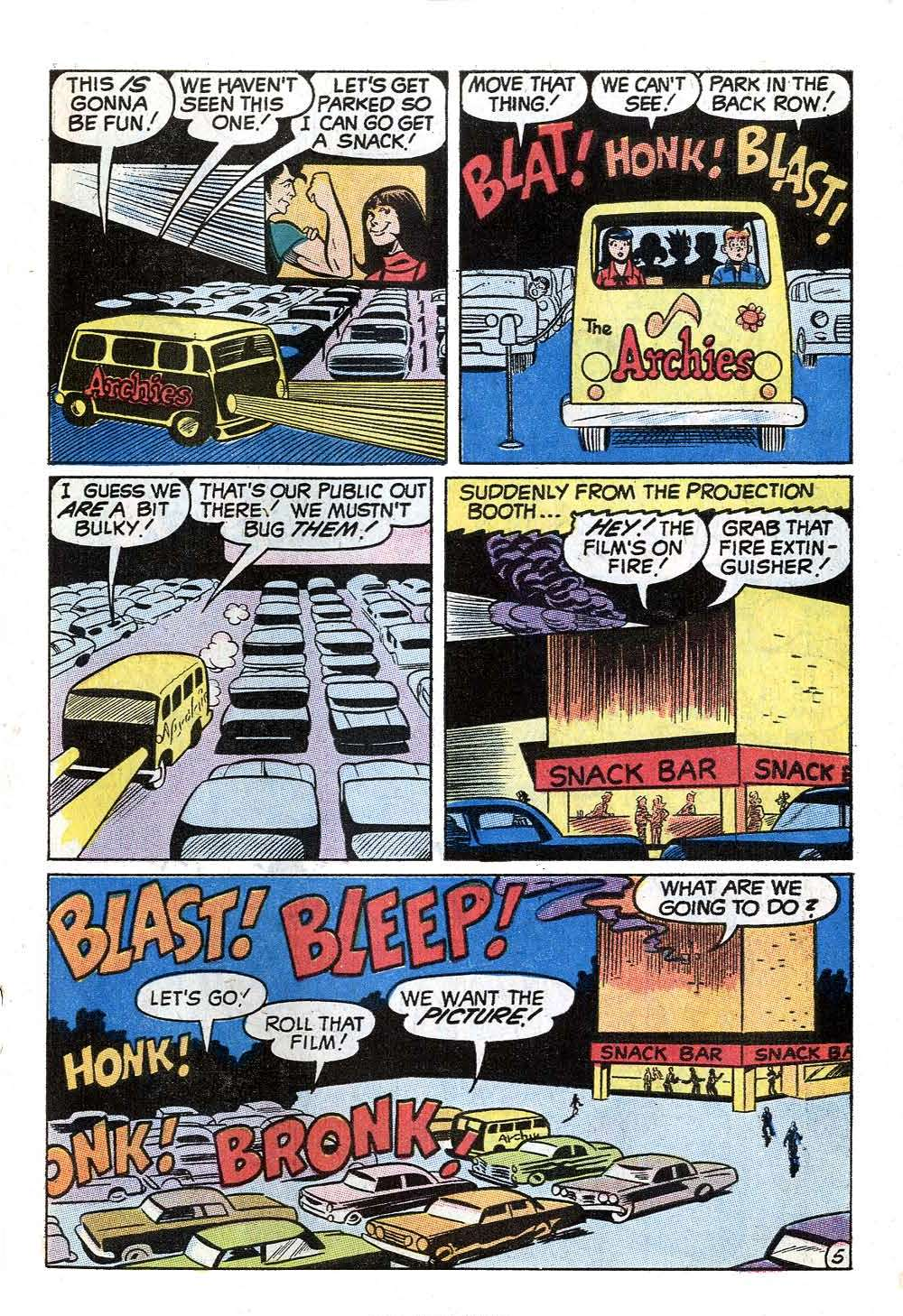 Read online Archie (1960) comic -  Issue #201 - 7