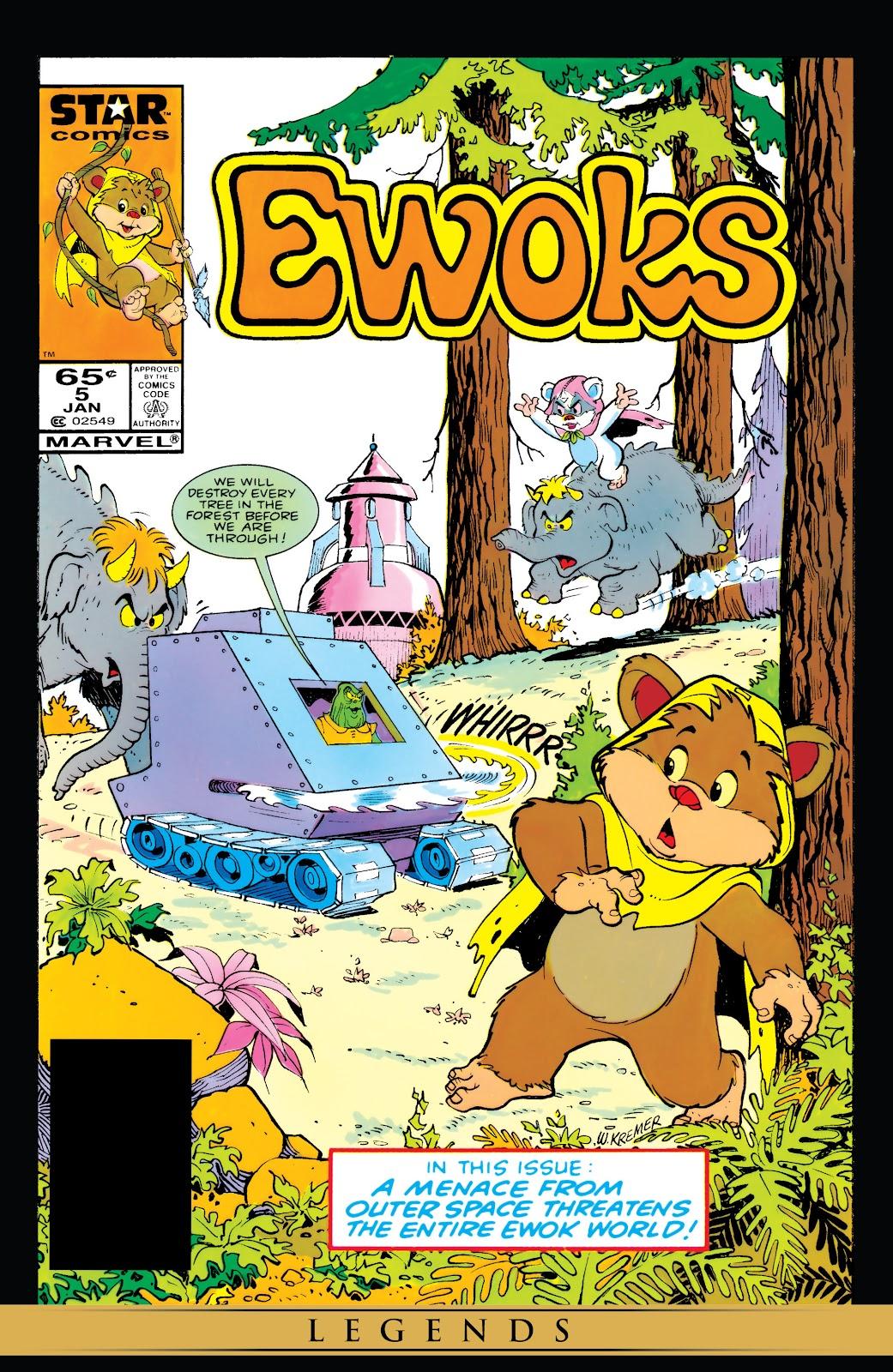 Ewoks issue 5 - Page 1