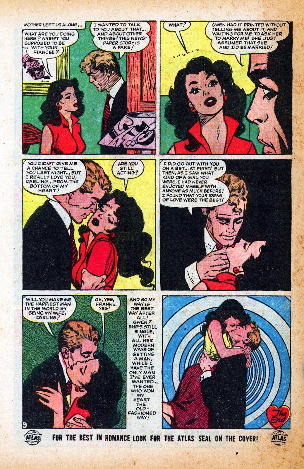 Love Romances (1949) issue 47 - Page 32