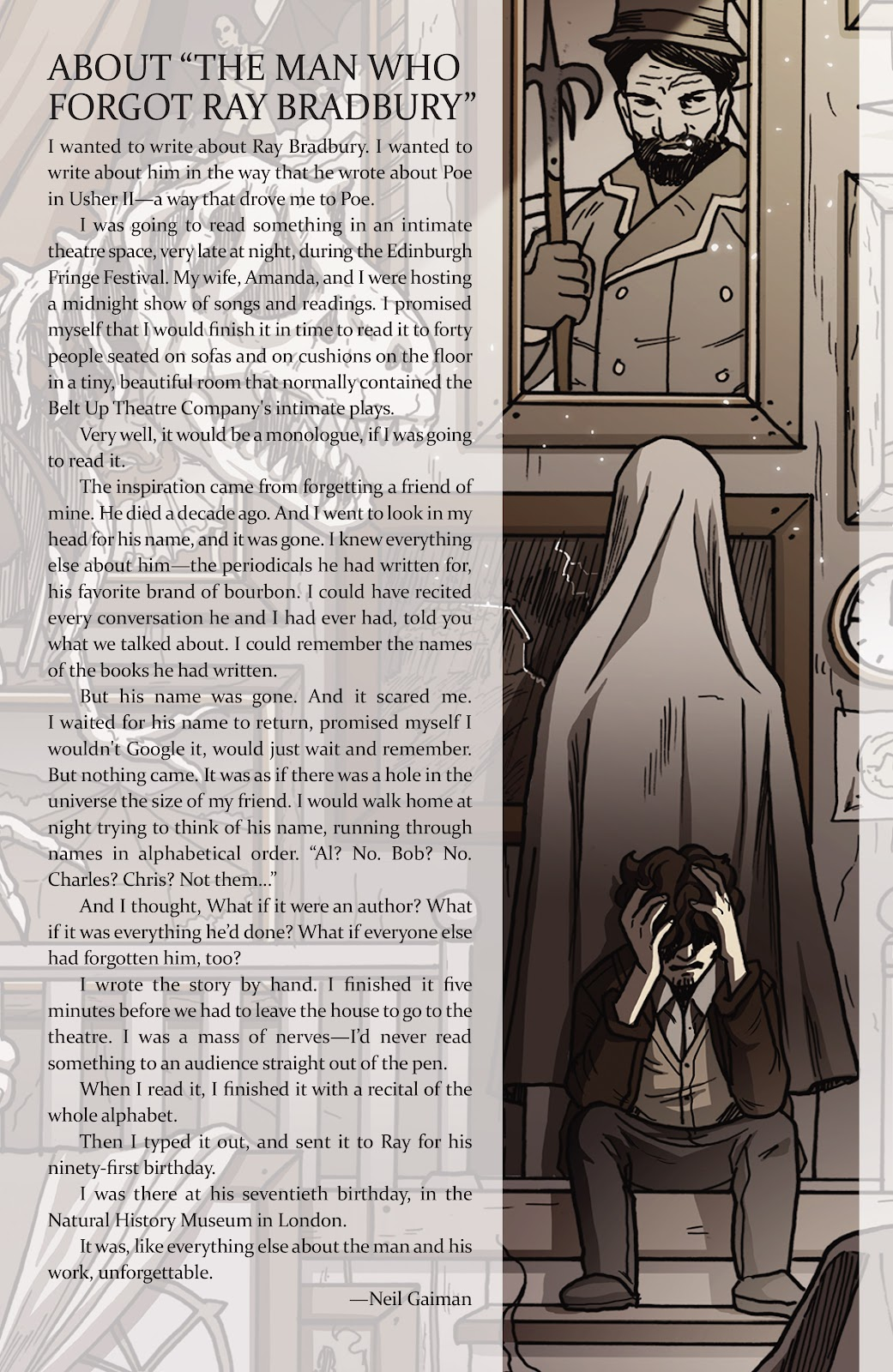 Read online Shadow Show: Stories in Celebration of Ray Bradbury comic -  Issue #2 - 18