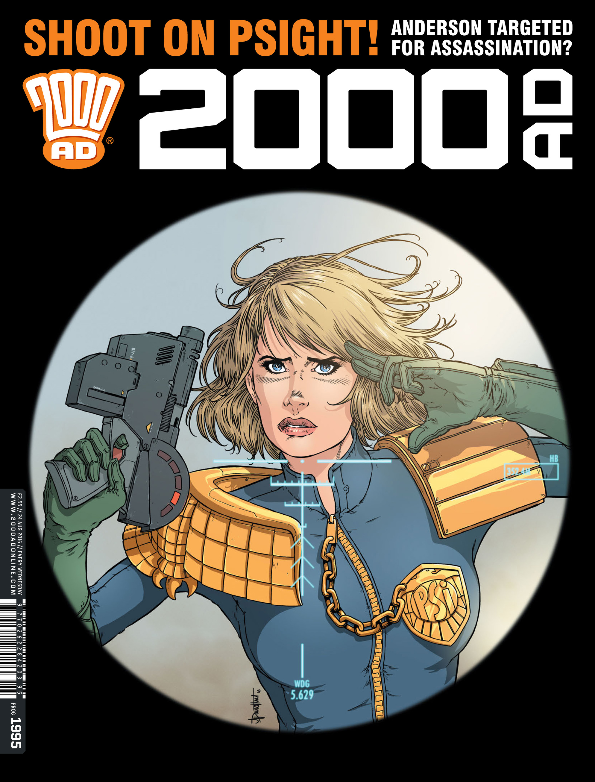 Read online 2000 AD comic -  Issue #1995 - 1