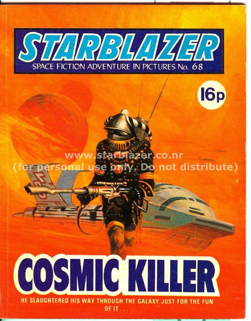 Starblazer issue 68 - Page 1