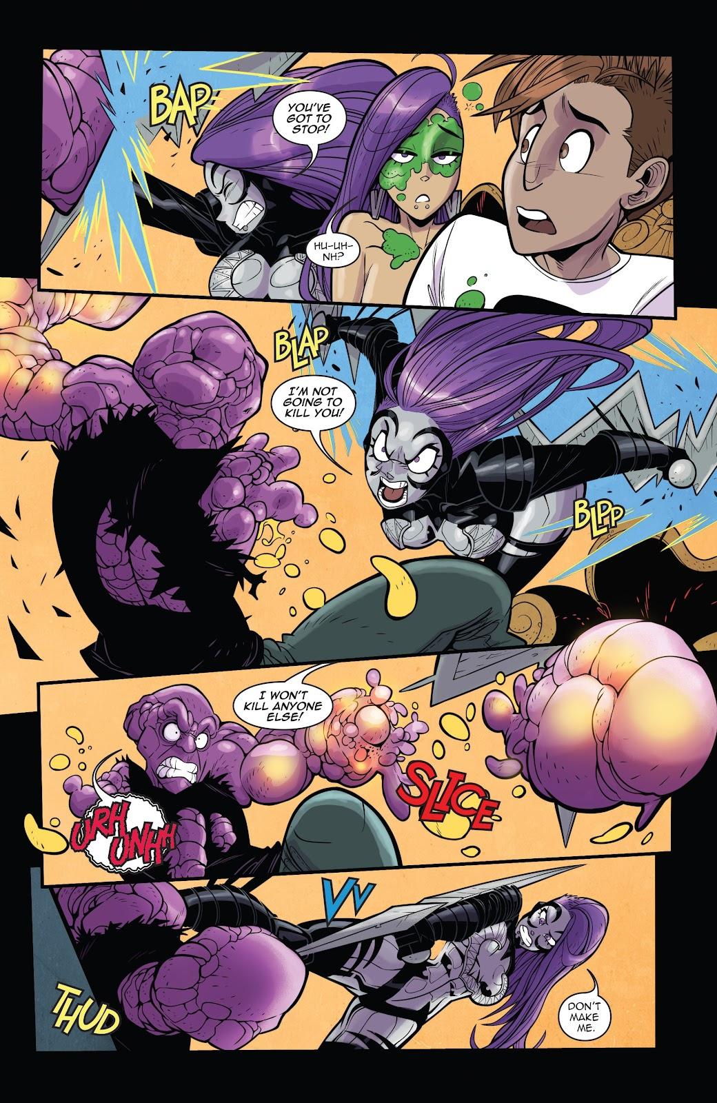 Read online Vampblade Season 3 comic -  Issue #11 - 21