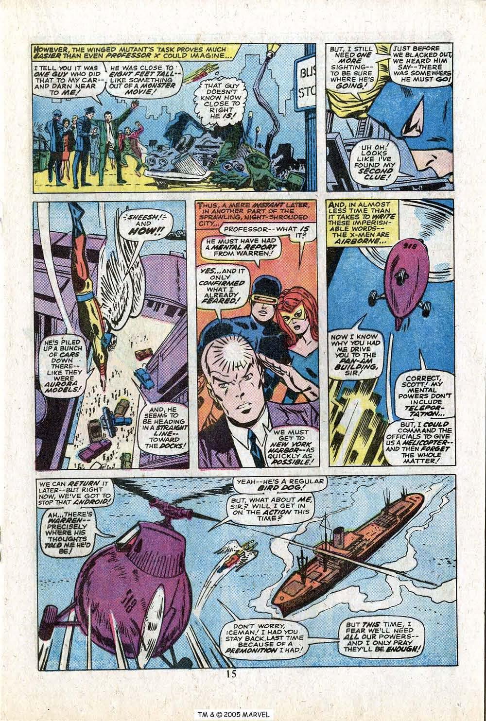 Uncanny X-Men (1963) 88 Page 16
