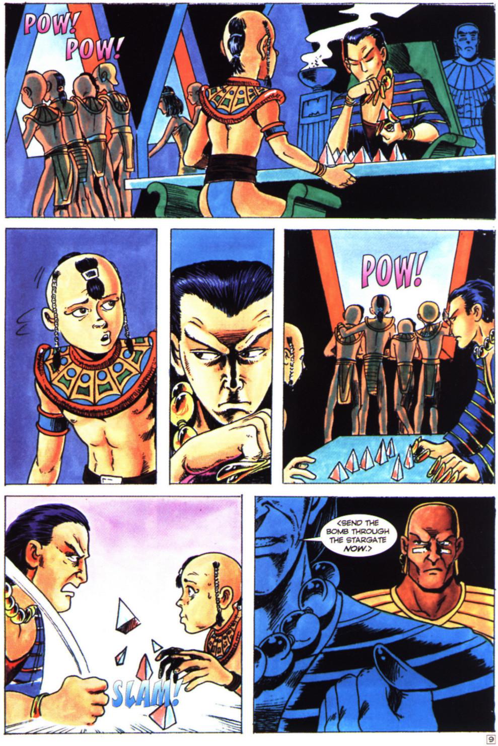 Read online Stargate comic -  Issue #4 - 11