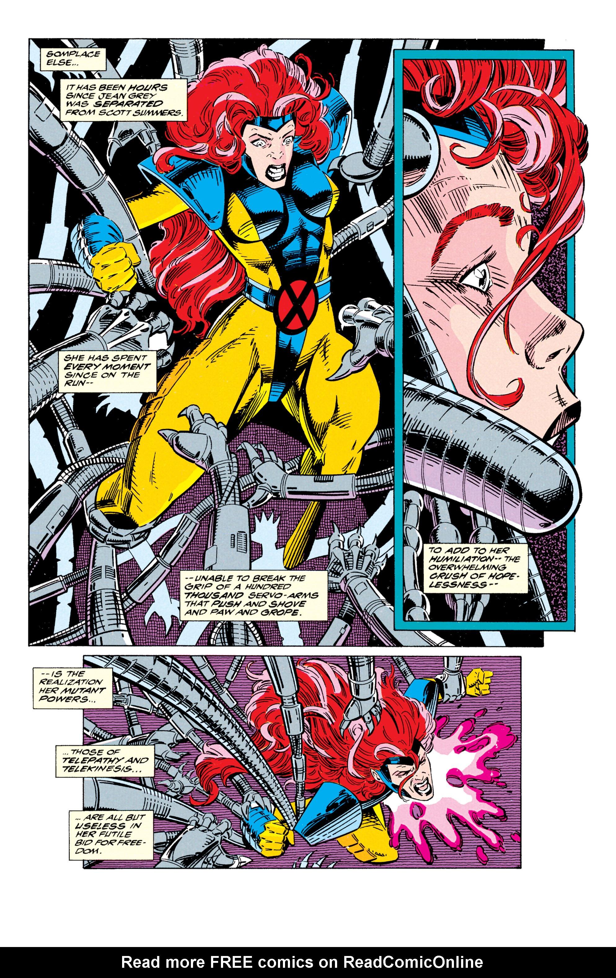 Read online Uncanny X-Men (1963) comic -  Issue #295 - 11