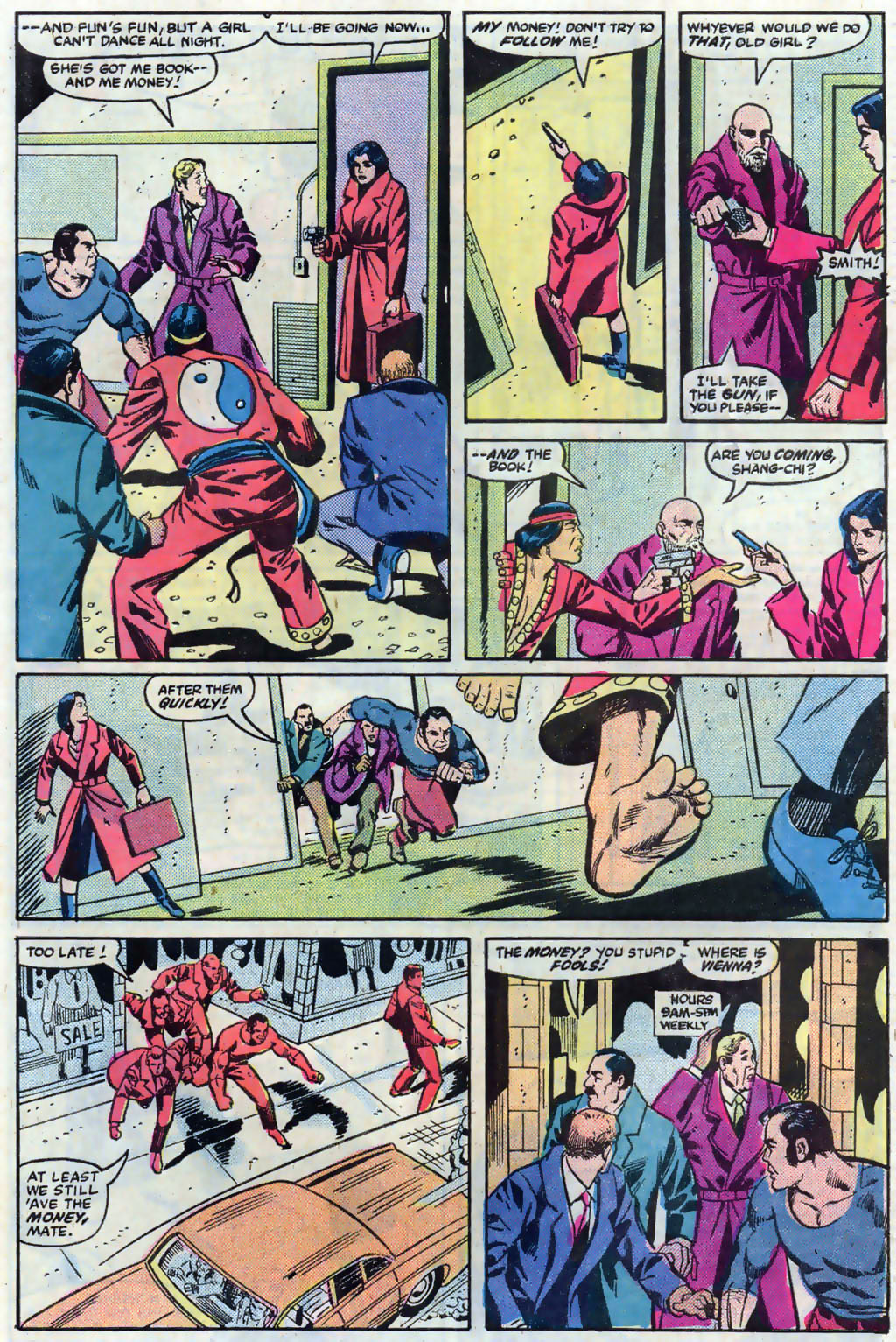 Read online Master of Kung Fu (1974) comic -  Issue #121 - 20