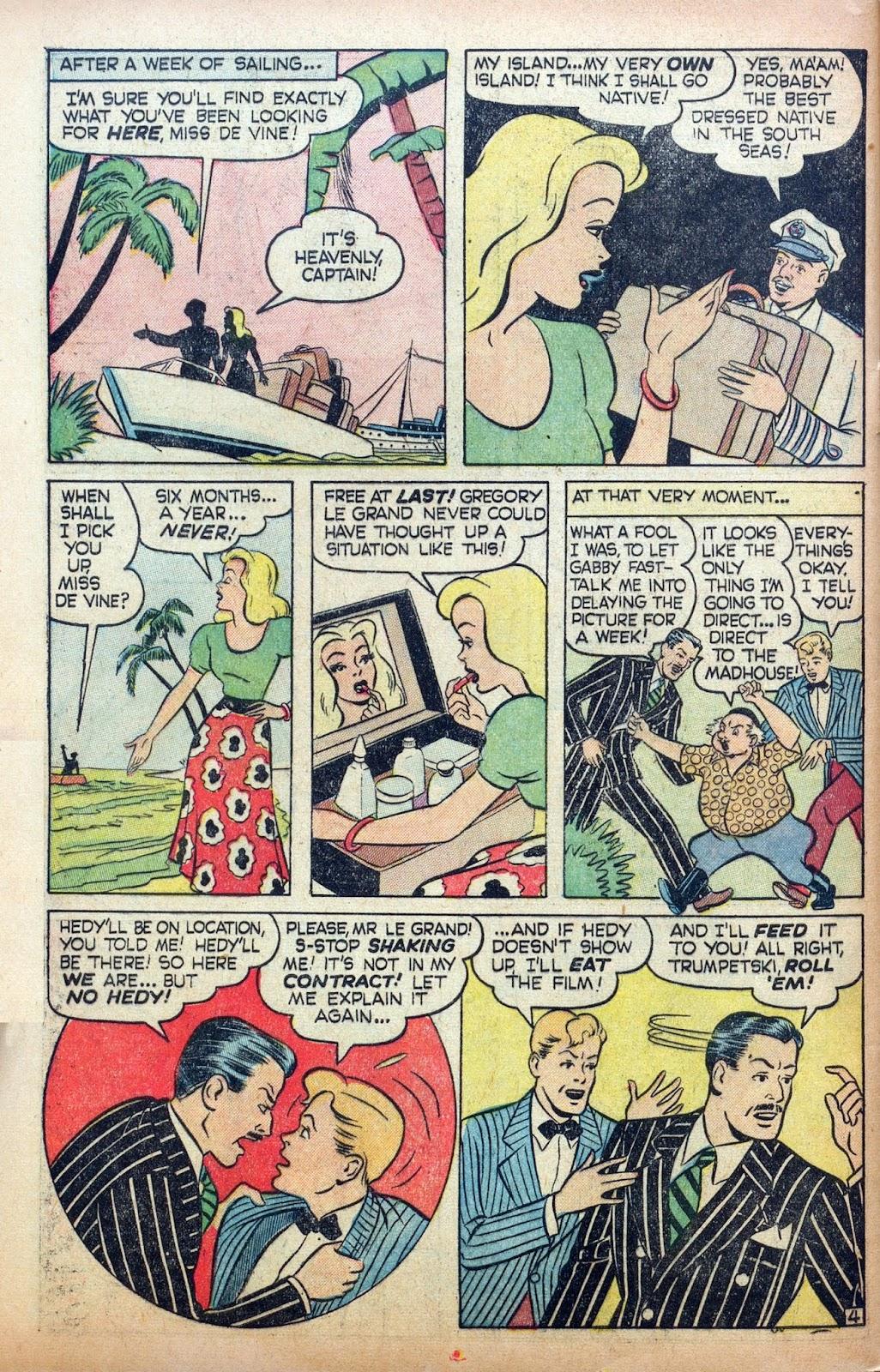 Hedy De Vine Comics issue 31 - Page 46