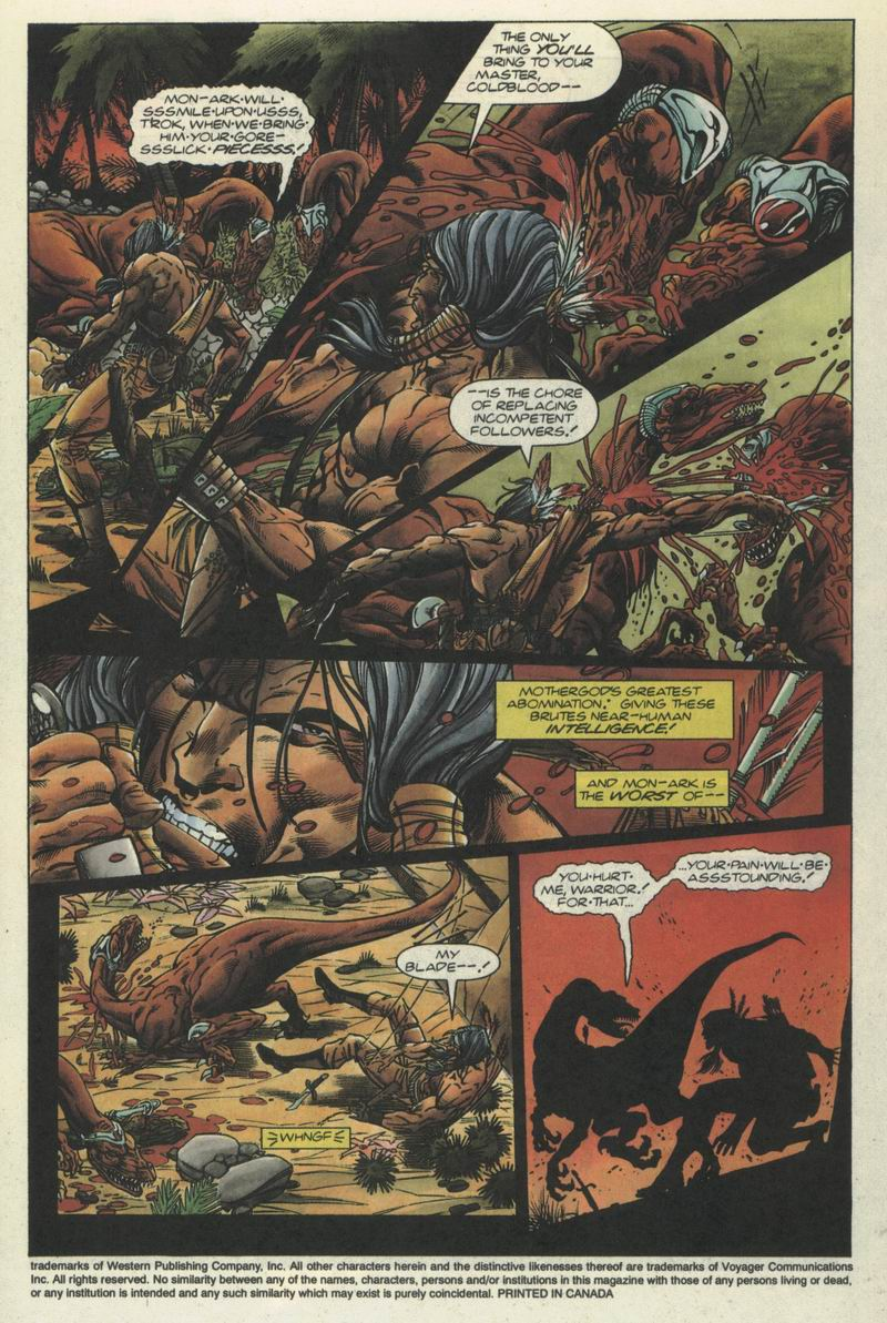 Read online Turok, Dinosaur Hunter (1993) comic -  Issue #2 - 4