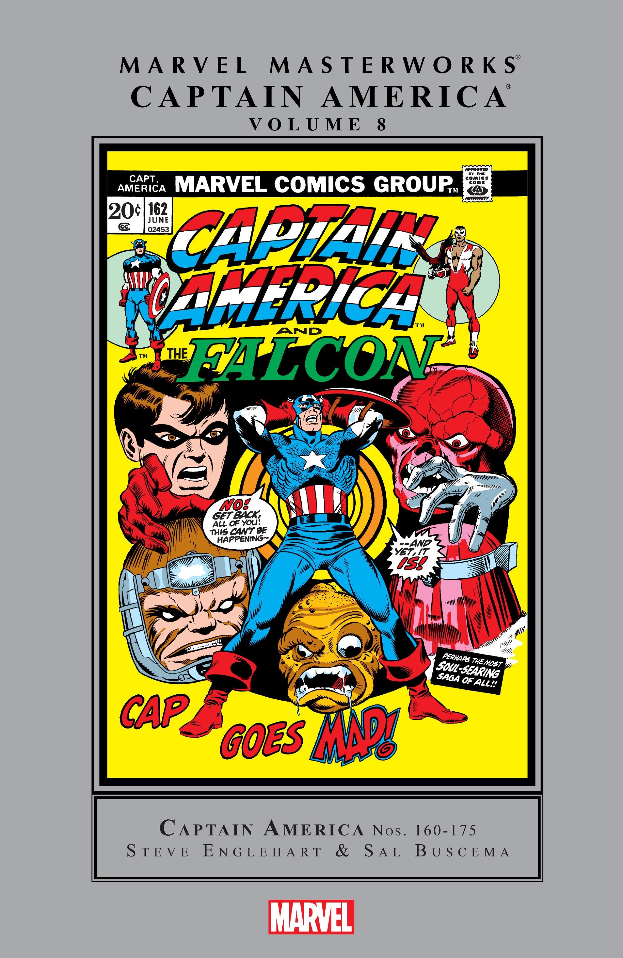 Marvel Masterworks: Captain America TPB_8_(Part_1) Page 1