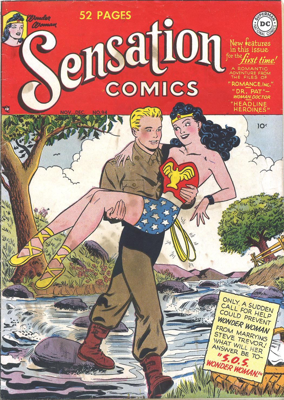 Read online Sensation (Mystery) Comics comic -  Issue #94 - 1