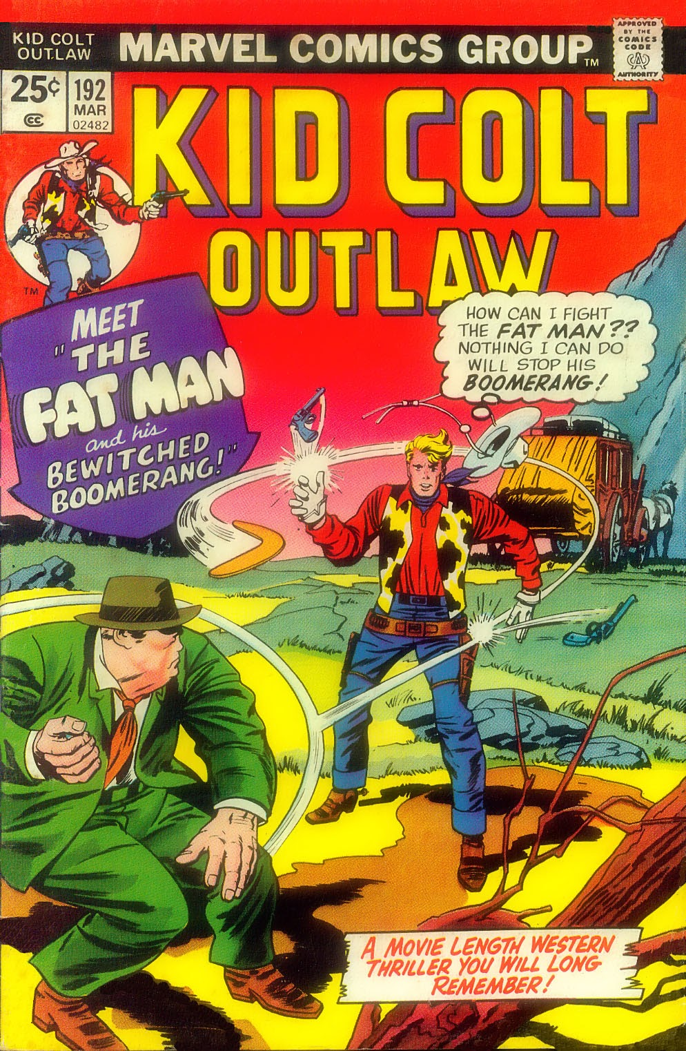 Kid Colt Outlaw issue 192 - Page 1