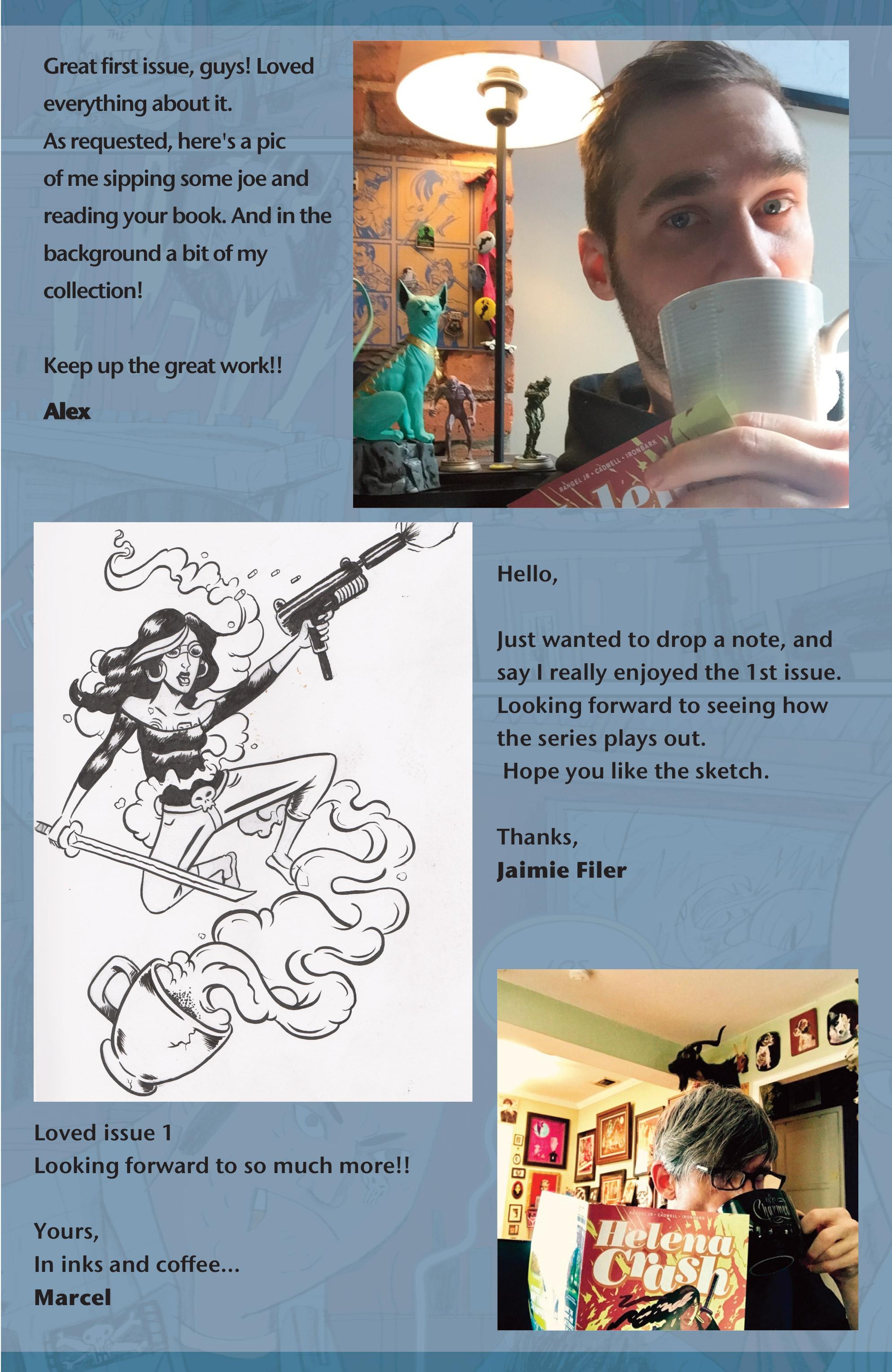 Read online Helena Crash comic -  Issue #4 - 27