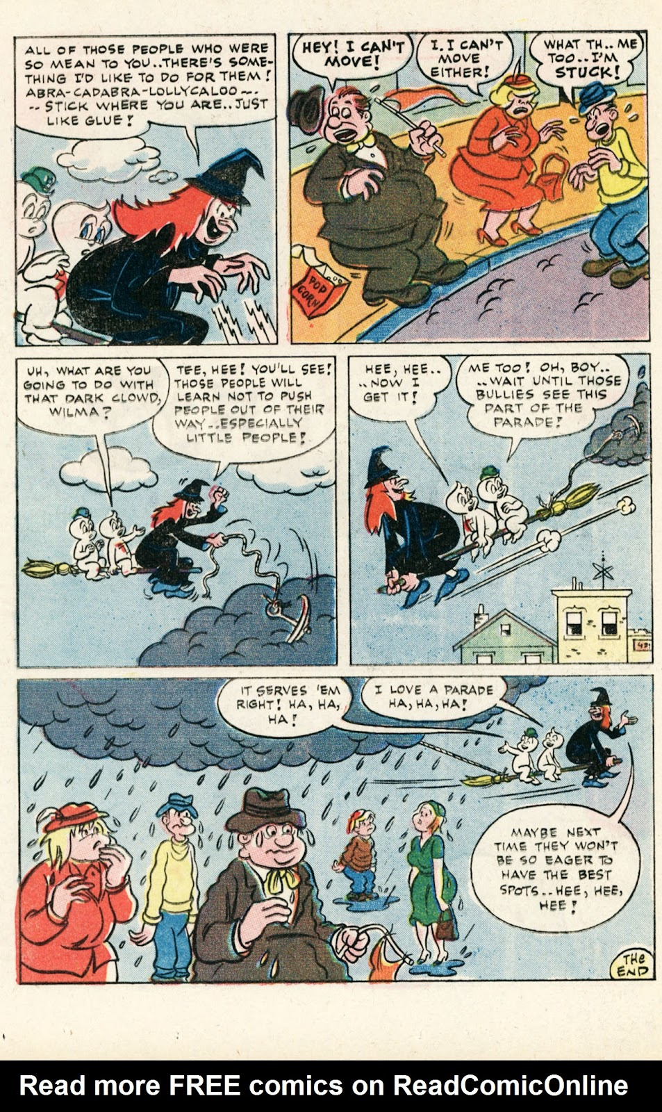 Read online Timmy the Timid Ghost comic -  Issue #10 - 16