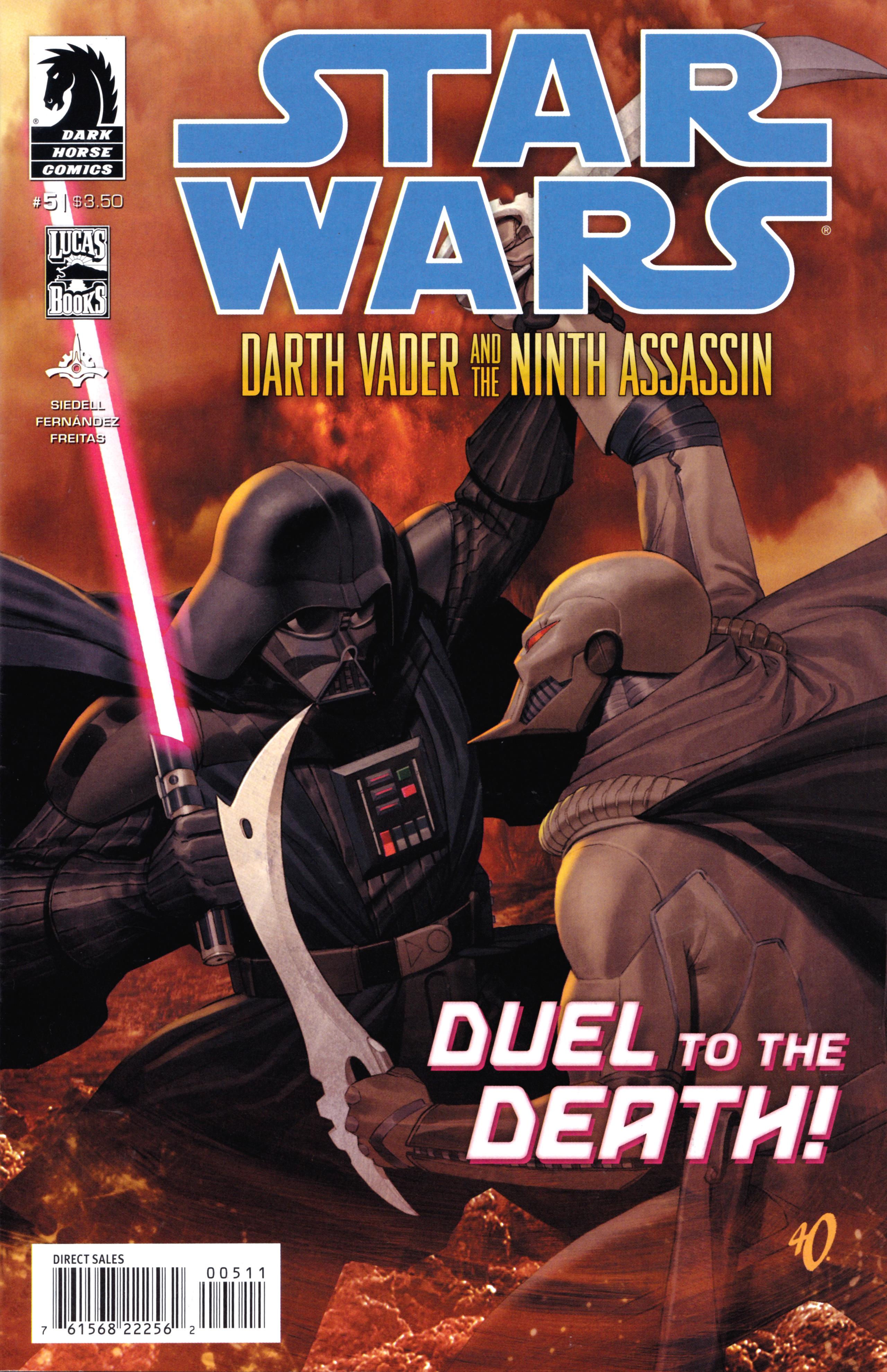 Star Wars: Darth Vader and the Ninth Assassin 5 Page 1