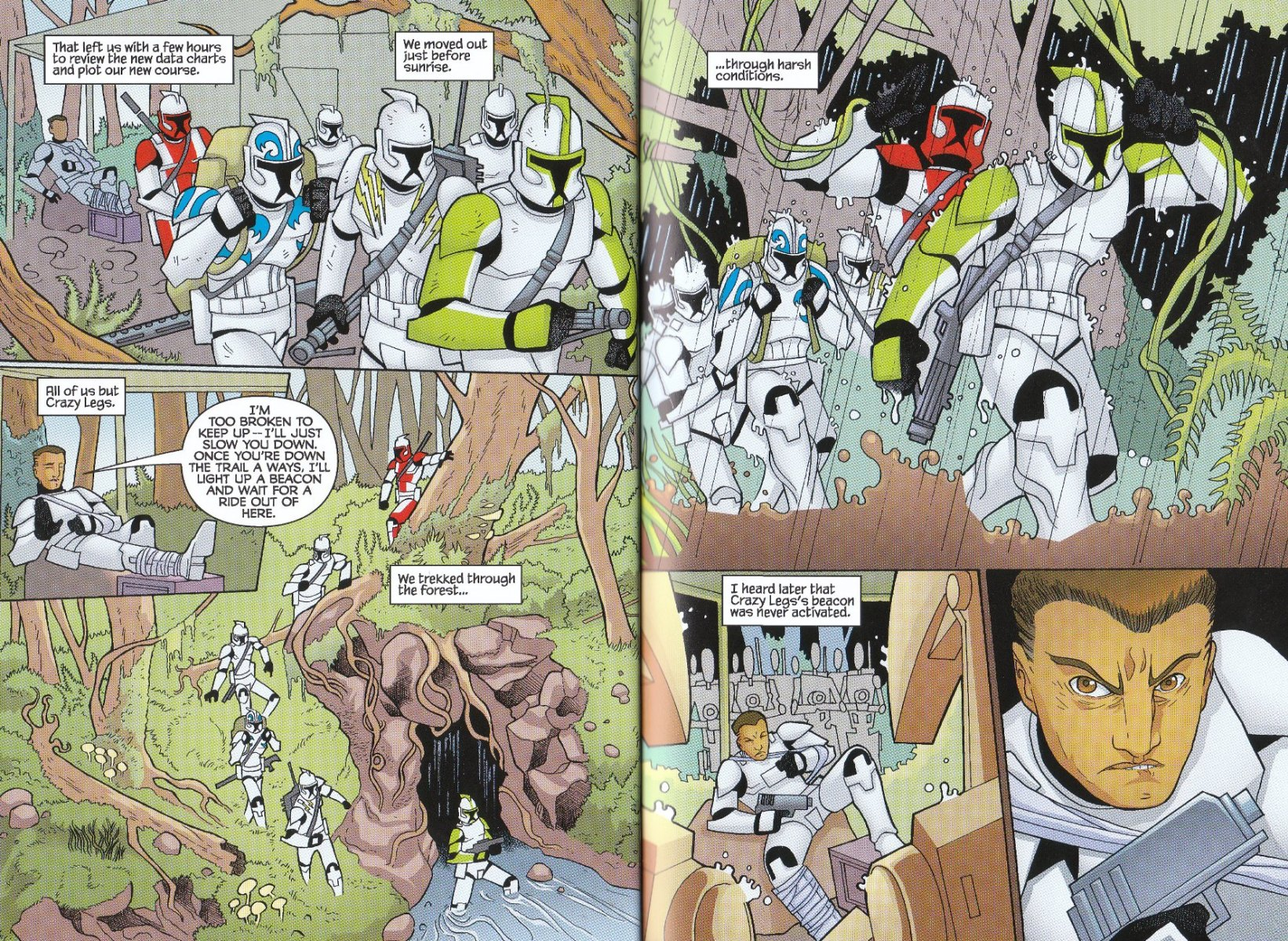 Read online Star Wars: The Clone Wars - The Enemy Within comic -  Issue # Full - 16