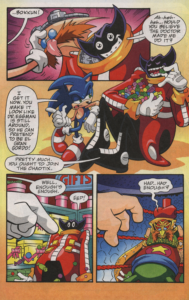 Read online Sonic X comic -  Issue #31 - 22