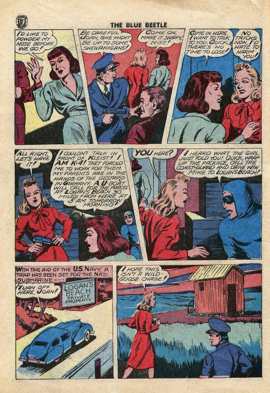 The Blue Beetle issue 34 - Page 9