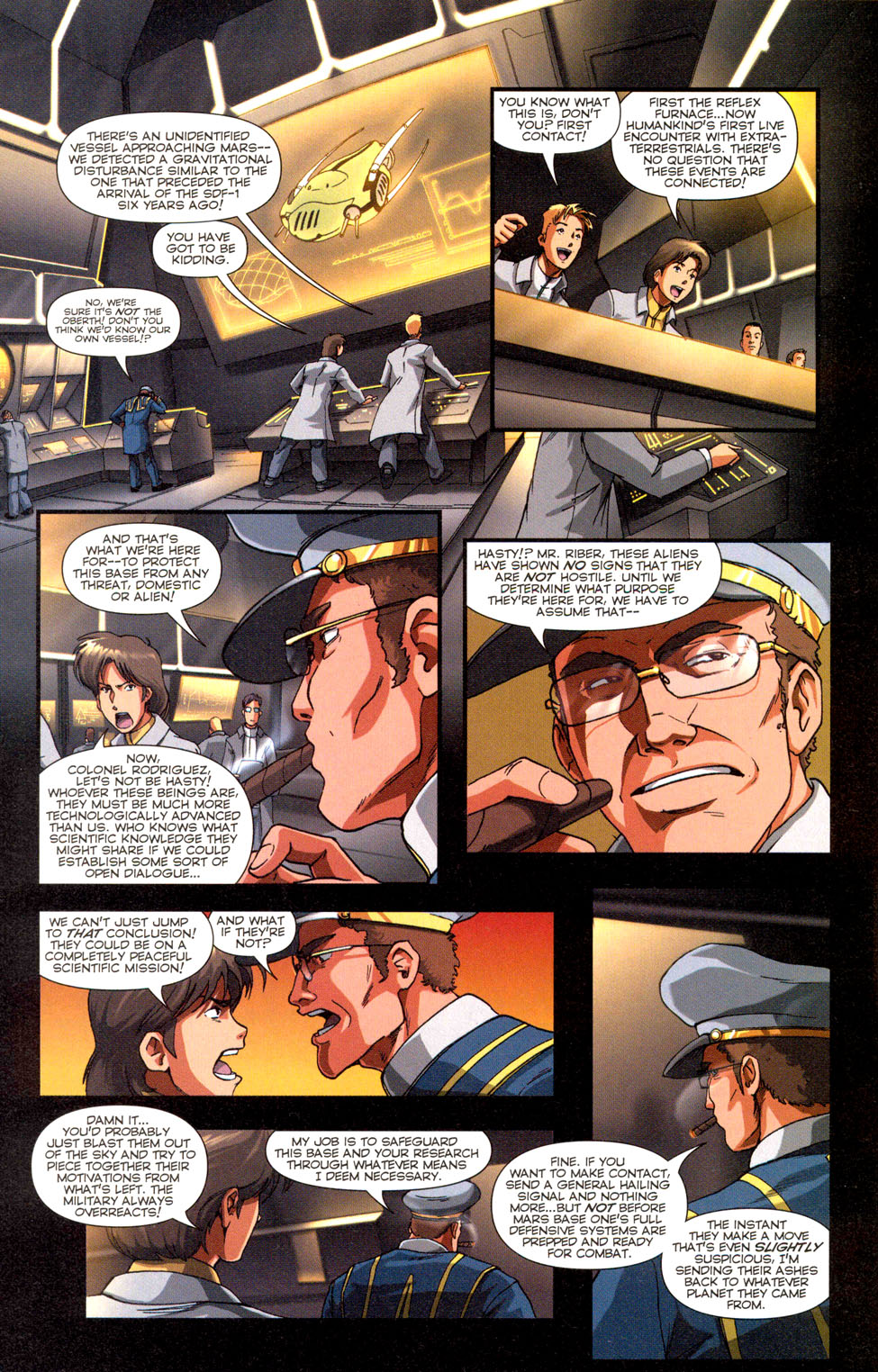 Read online Robotech: Invasion comic -  Issue #3 - 19