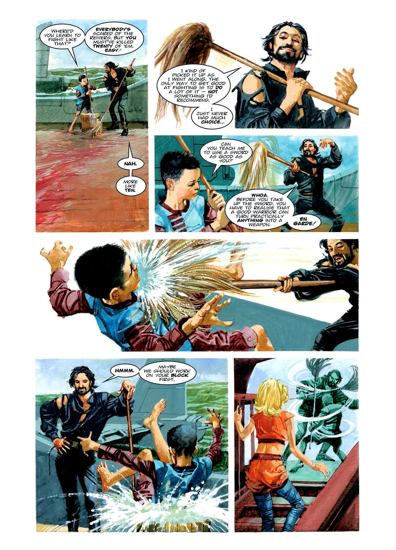 Read online Nikolai Dante comic -  Issue # TPB 6 - 93