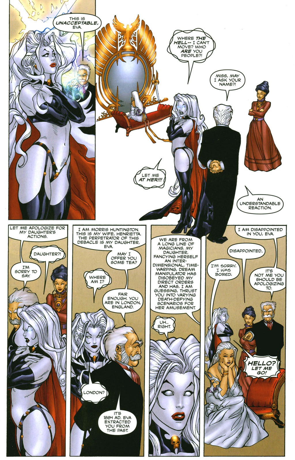 Read online Lady Death: The Wicked comic -  Issue #1 - 29
