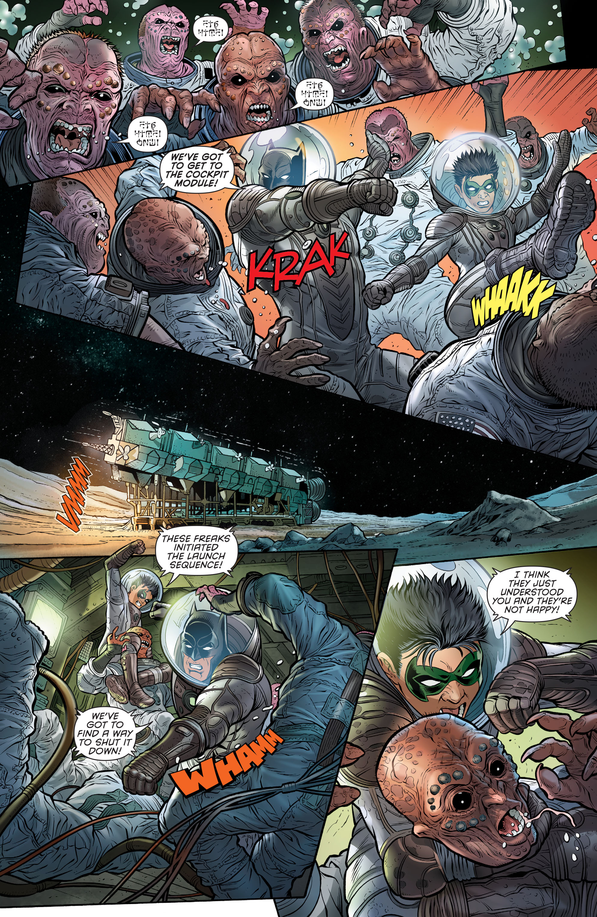 Read online Batman and Robin (2011) comic -  Issue # Annual 3 - 22